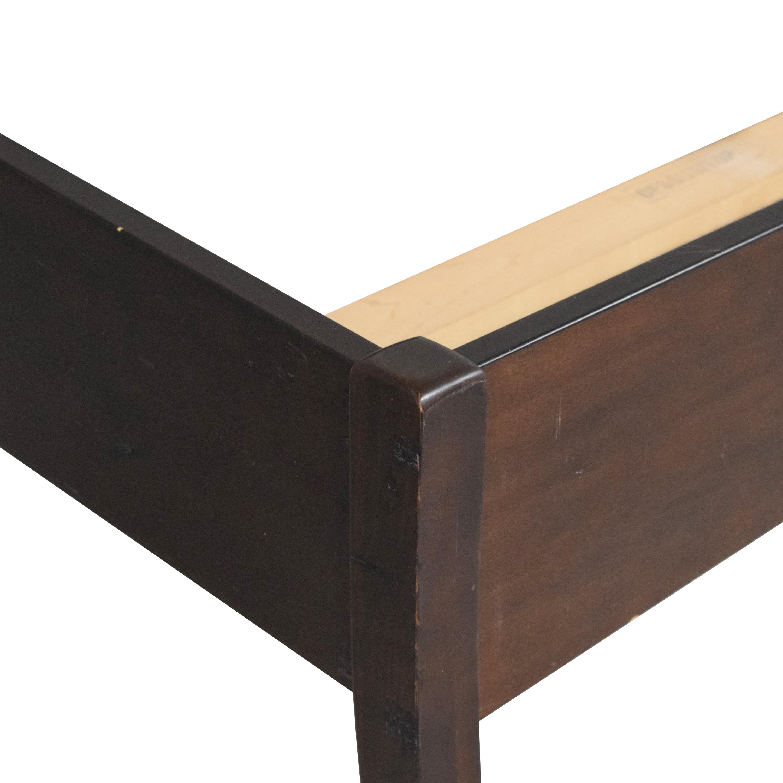 Shermag Shermag Panel Queen Bed used