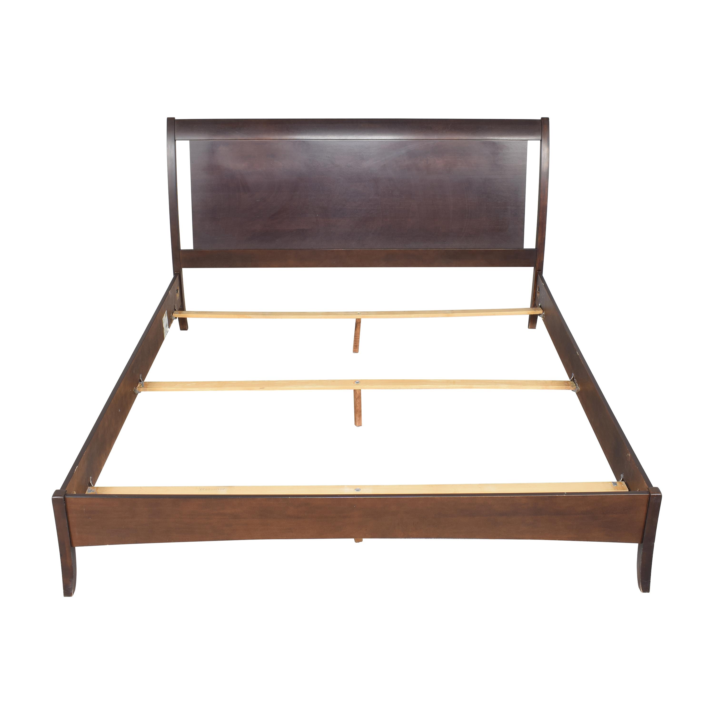 buy Shermag Panel Queen Bed Shermag