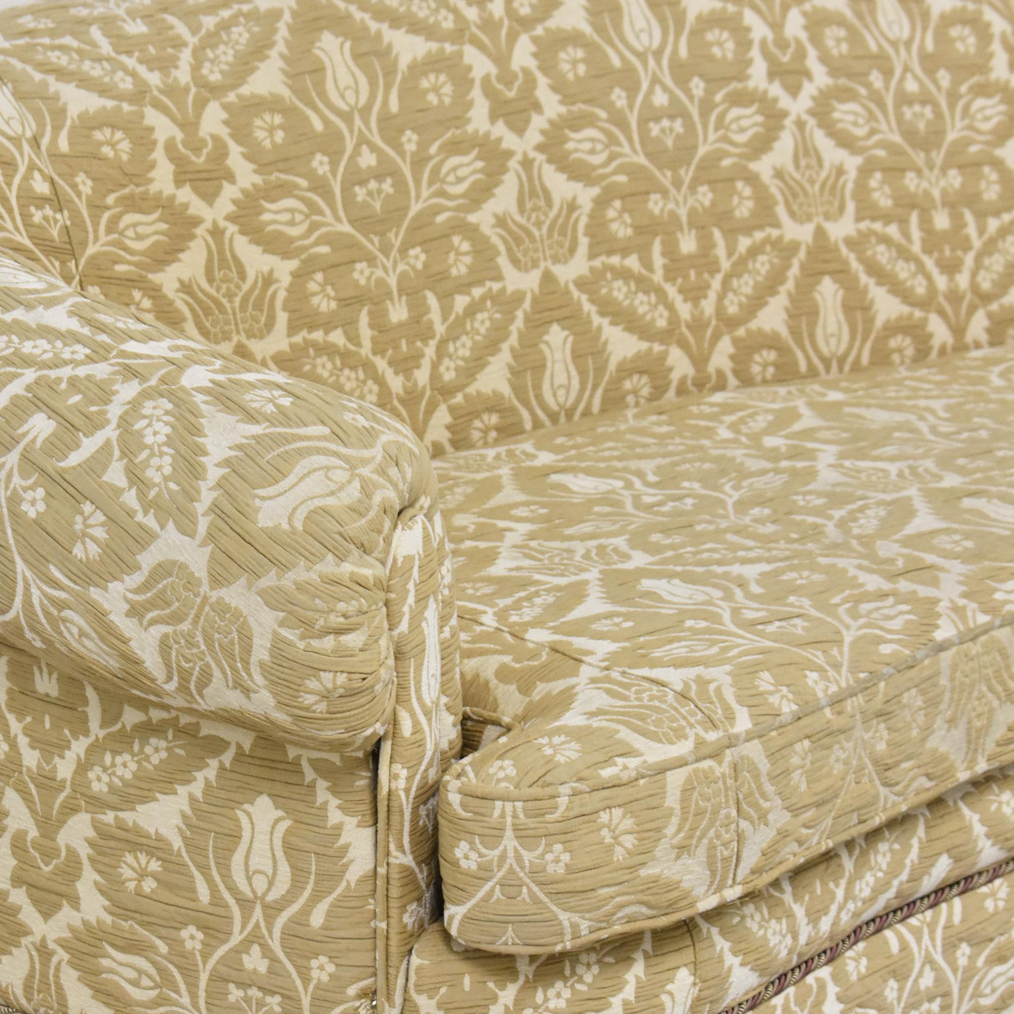 Sherrill Furniture Curved Camel Back Sofa / Sofas
