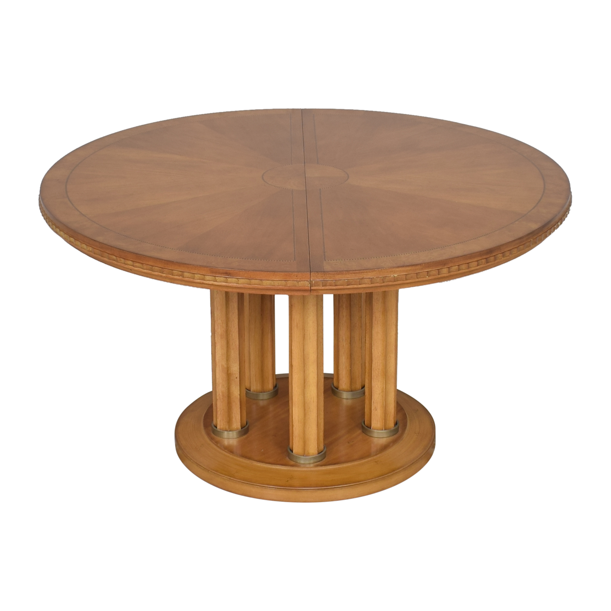 Fortunoff Fortunoff Extendable Dining Table brown