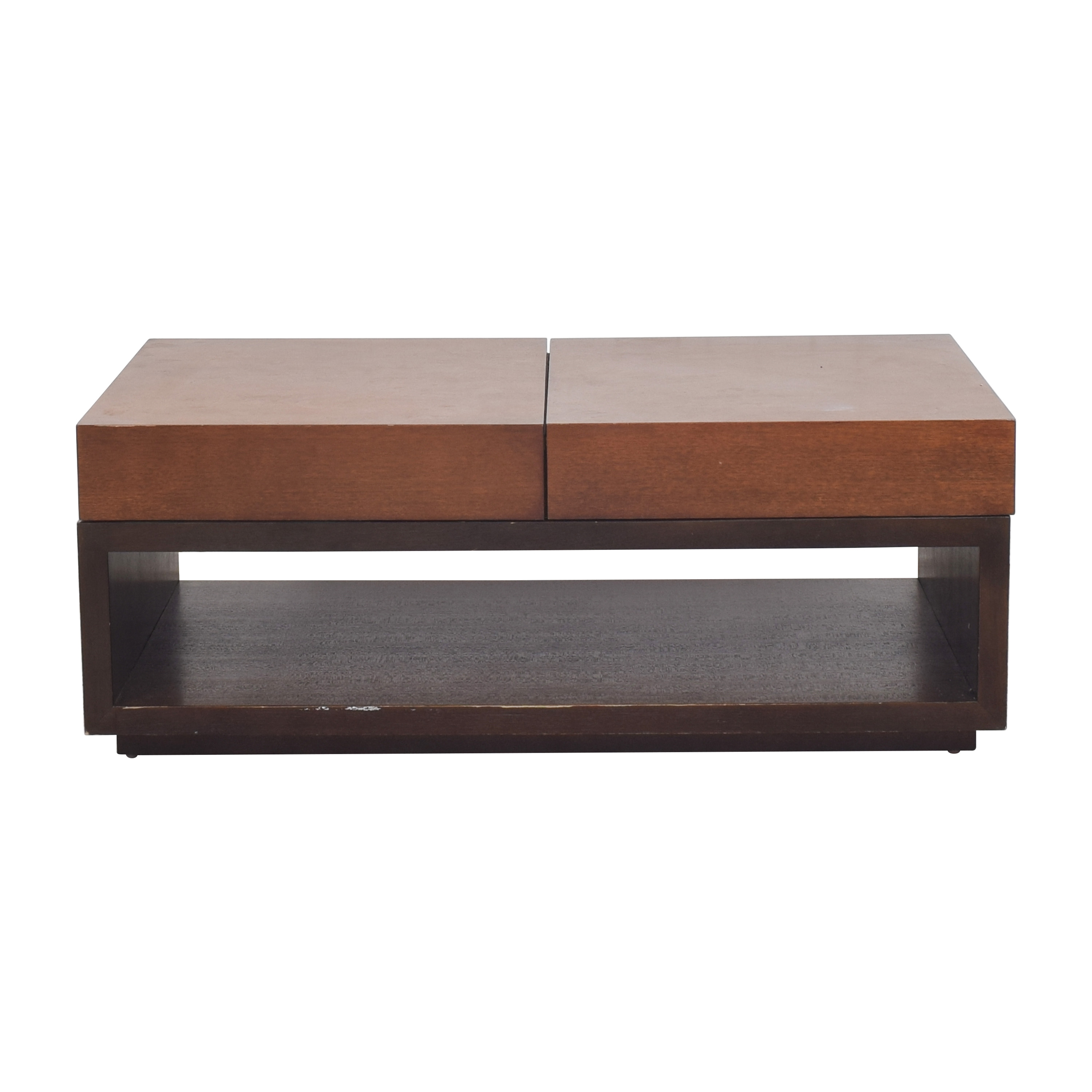 shop Crate & Barrel Trax Coffee Table Crate & Barrel Tables