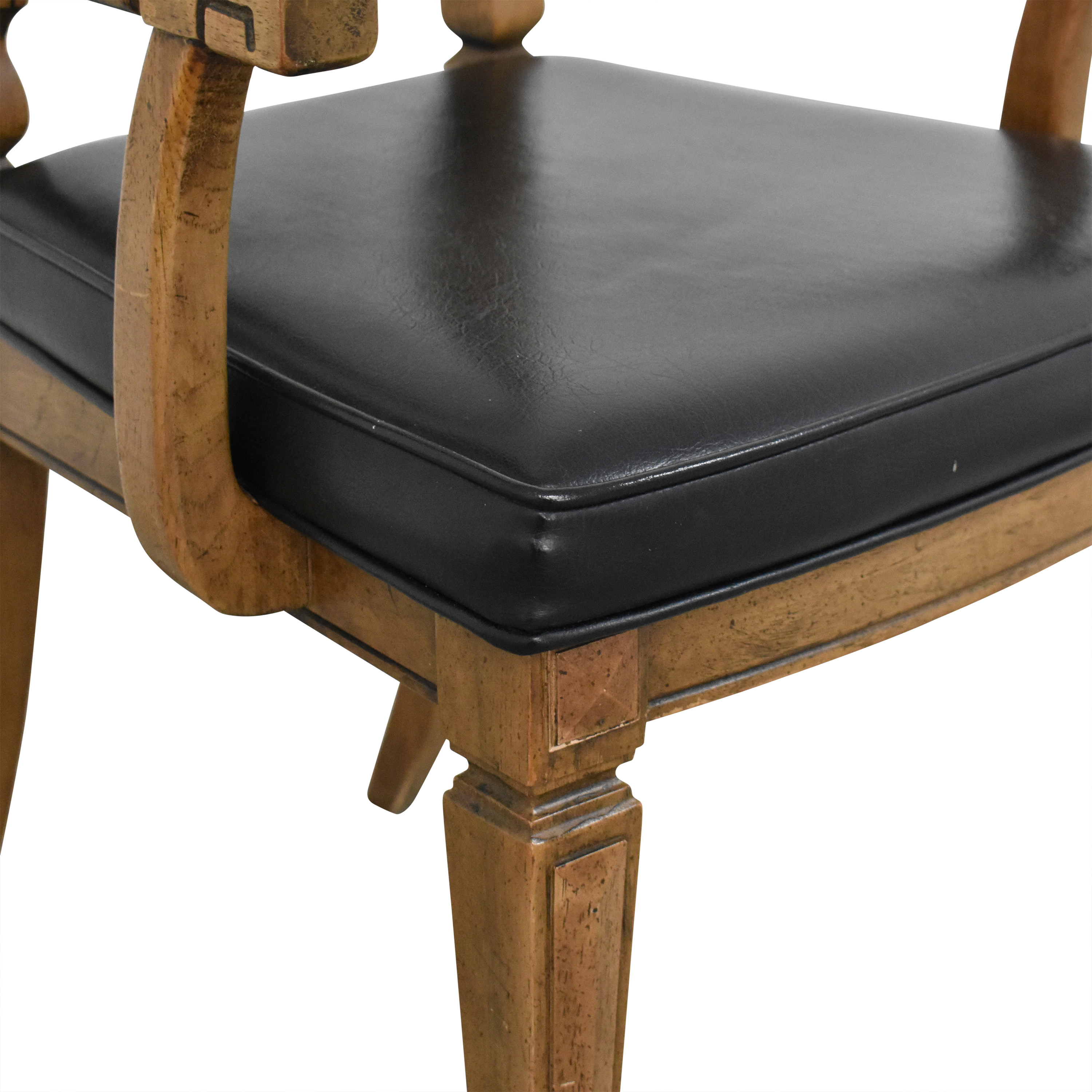 Thomasville Thomasville Tall Ladder Back Dining Arm Chair discount