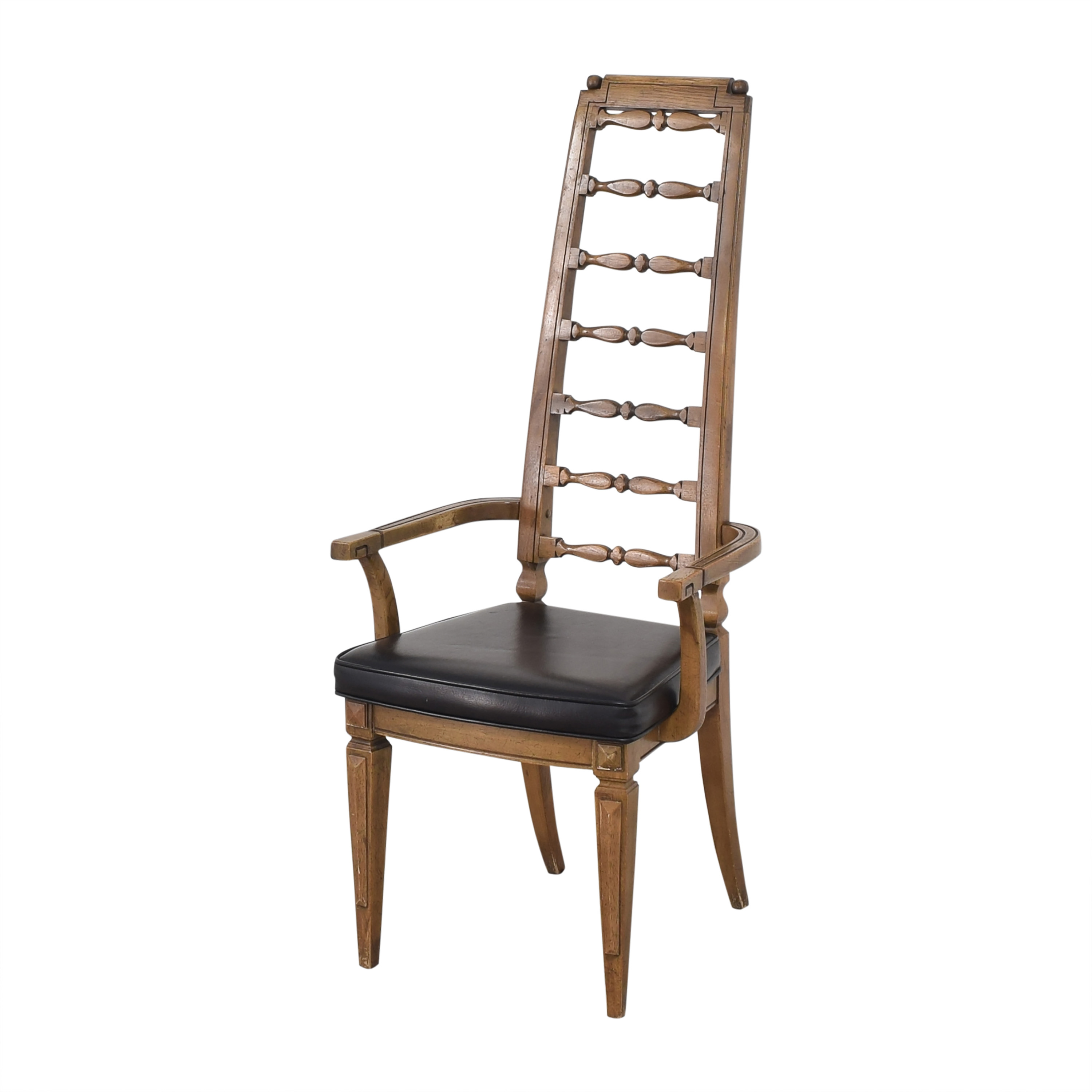 Thomasville Thomasville Tall Ladder Back Dining Arm Chair nyc