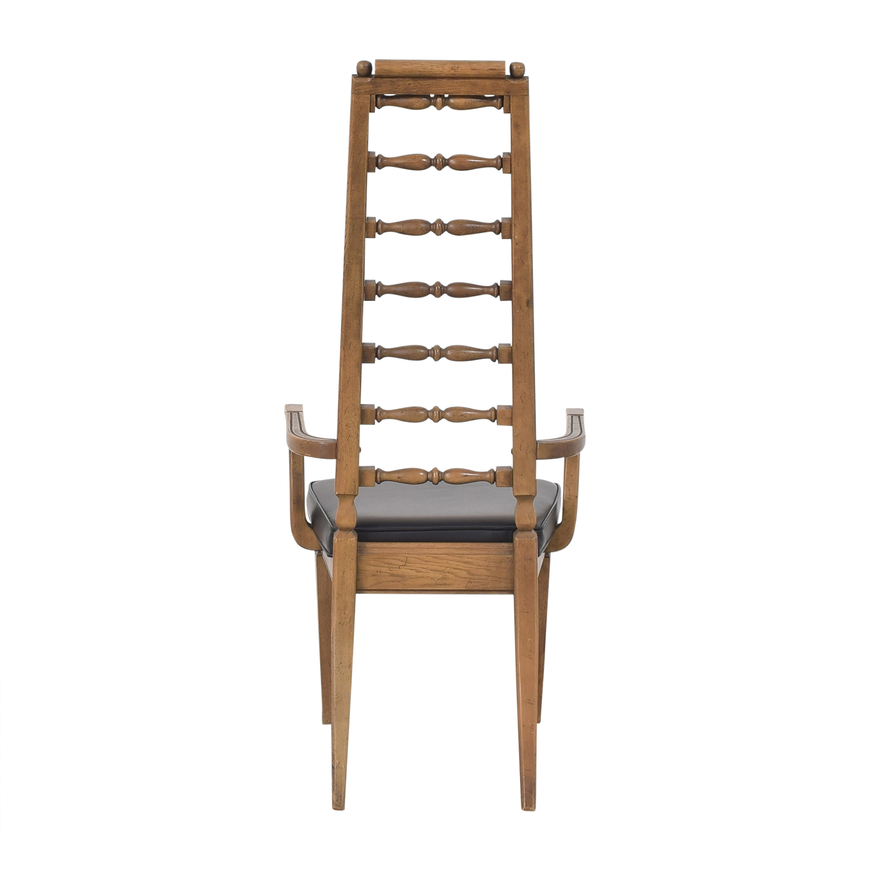 buy Thomasville Tall Ladder Back Dining Arm Chair Thomasville