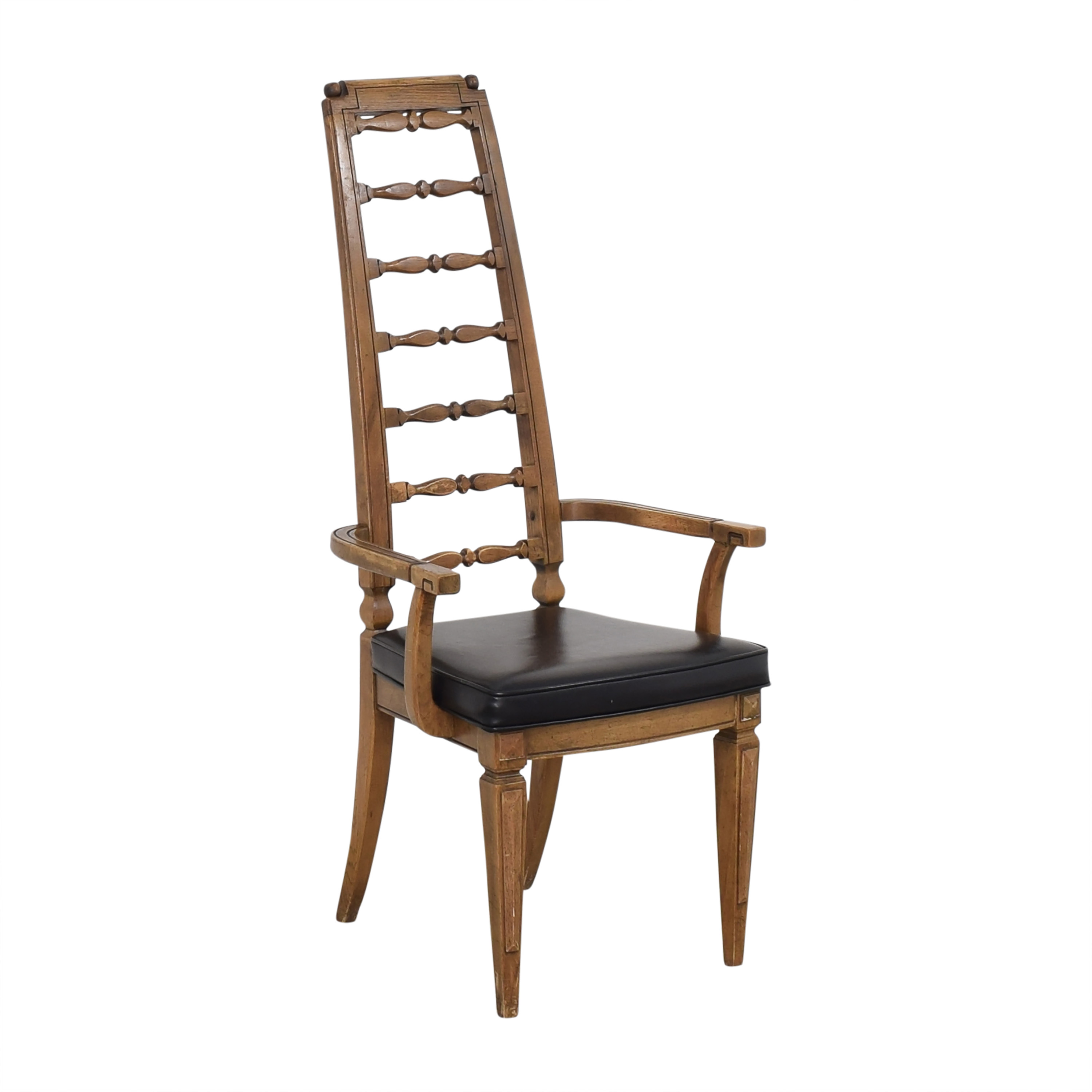 Thomasville Thomasville Tall Ladder Back Dining Arm Chair price