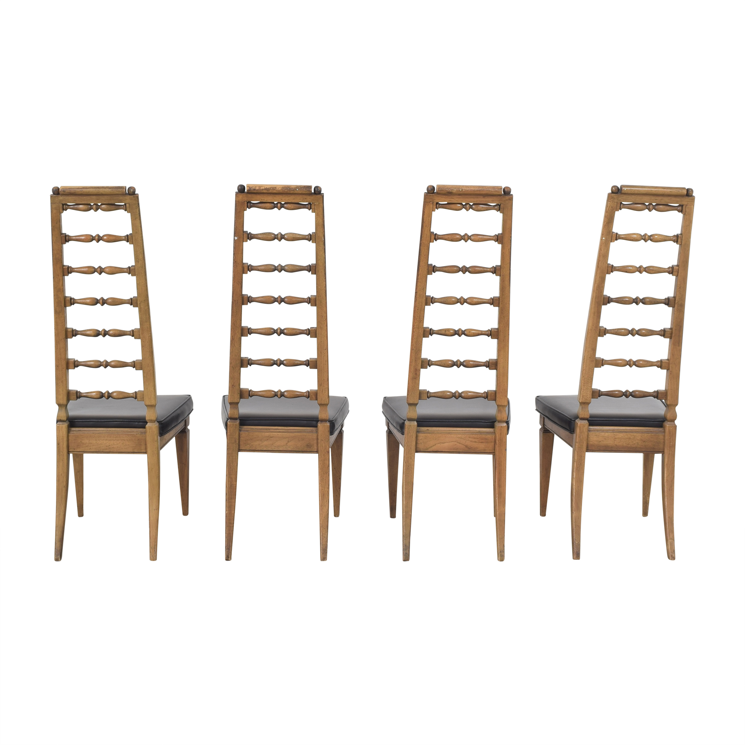 Thomasville Thomasville Tall Ladder Back Dining Chairs discount