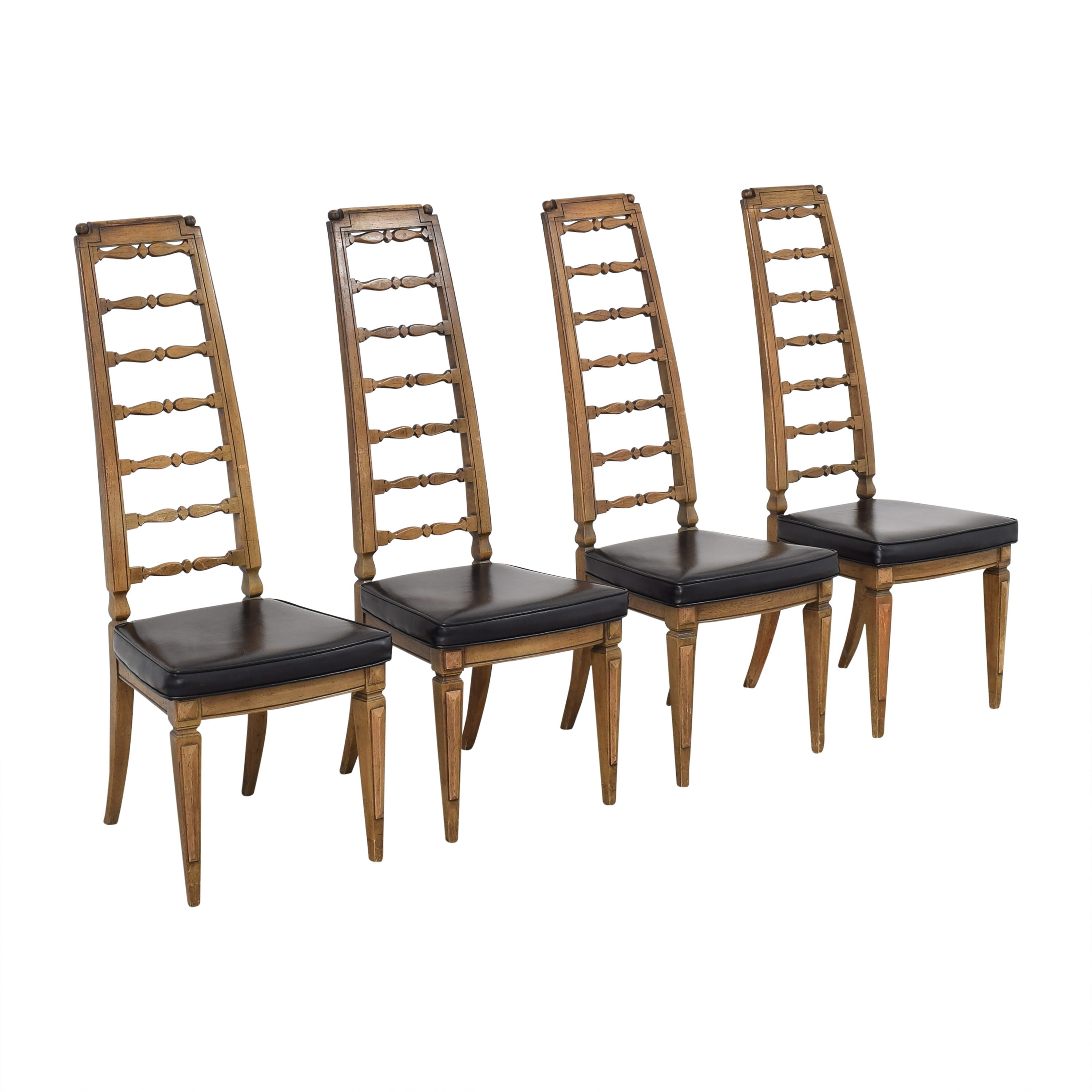 buy Thomasville Thomasville Tall Ladder Back Dining Chairs online