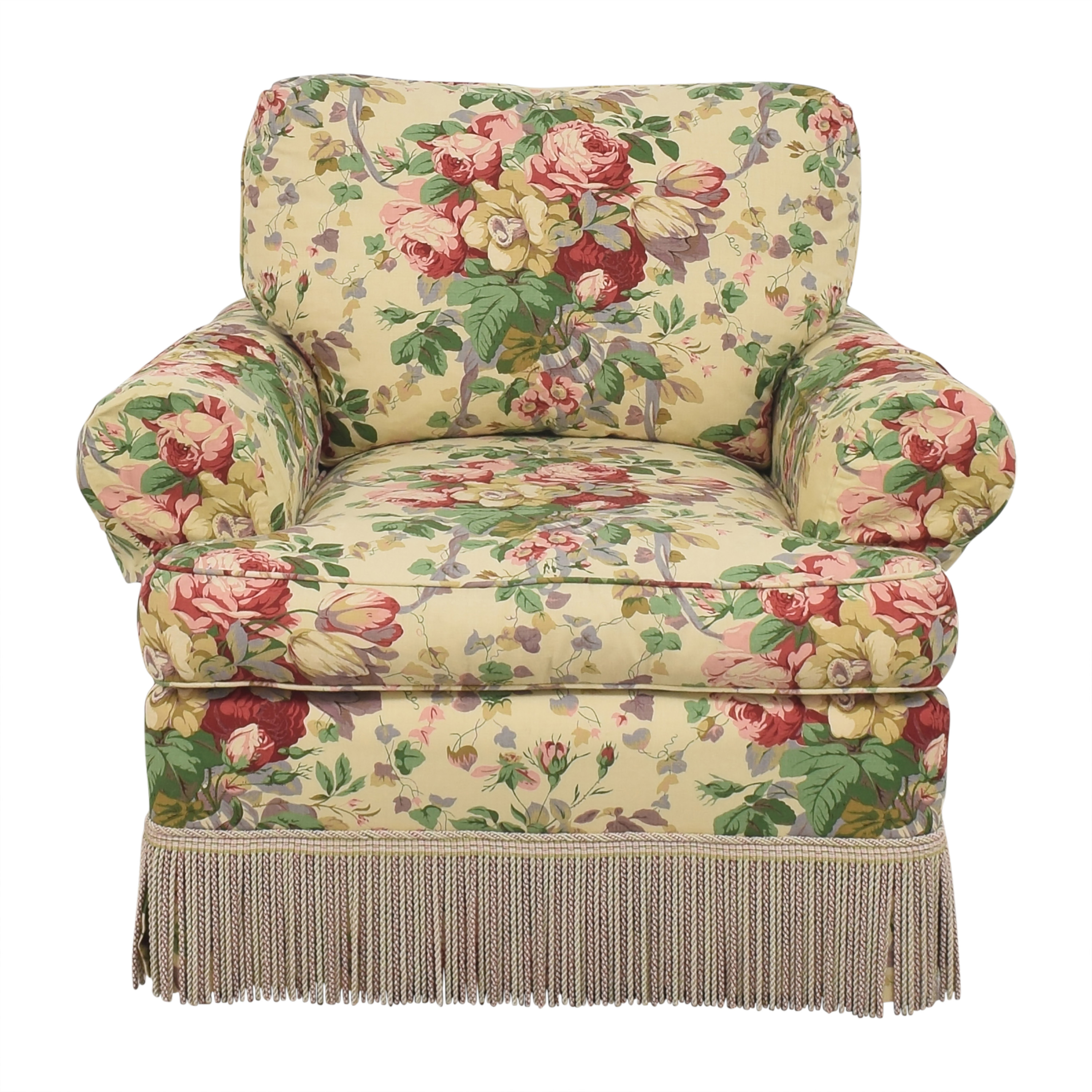 shop Lee Jofa Floral Club Chair Lee Jofa Chairs