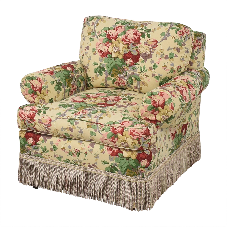 Lee Jofa Lee Jofa Floral Club Chair multi