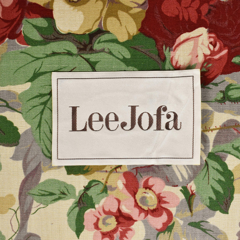 Lee Jofa Floral Club Chair Lee Jofa