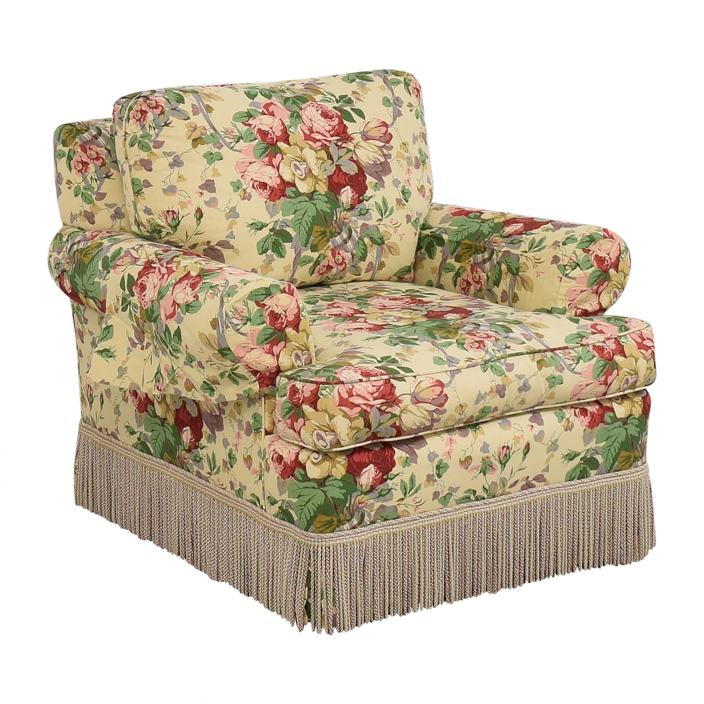 buy Lee Jofa Floral Club Chair Lee Jofa Chairs