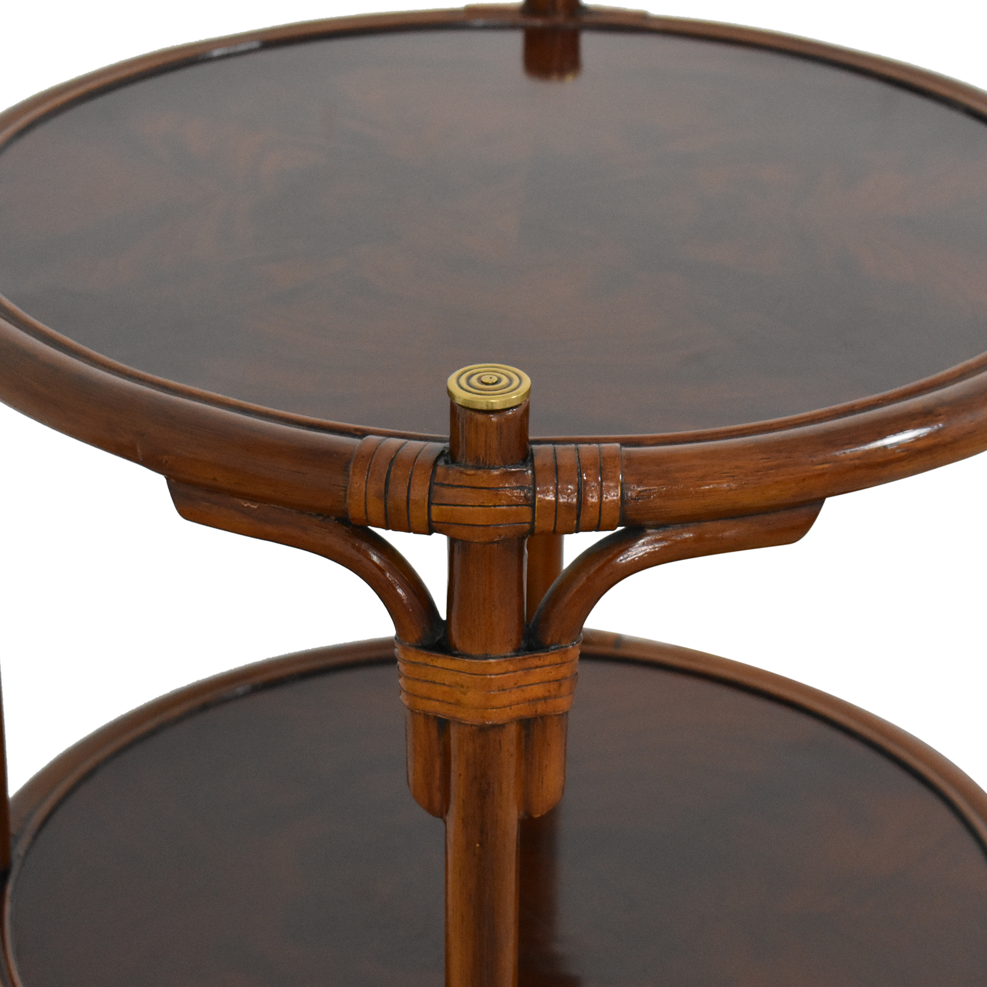 Maitland-Smith Maitland-Smith Three Tier Side Table for sale