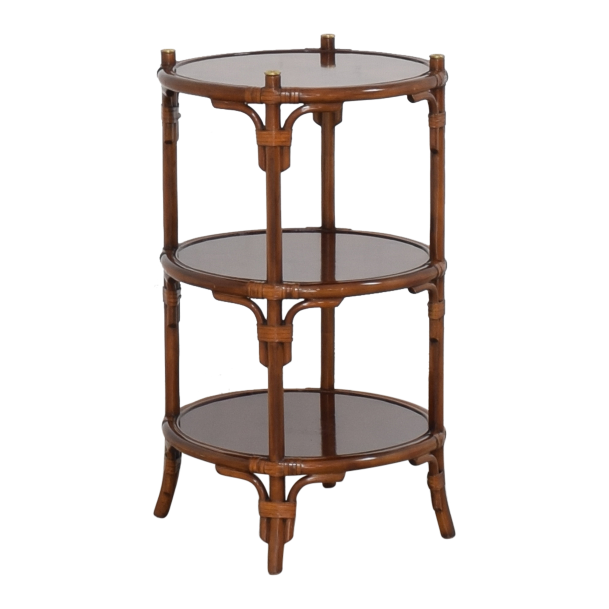 shop Maitland-Smith Three Tier Side Table Maitland-Smith Accent Tables
