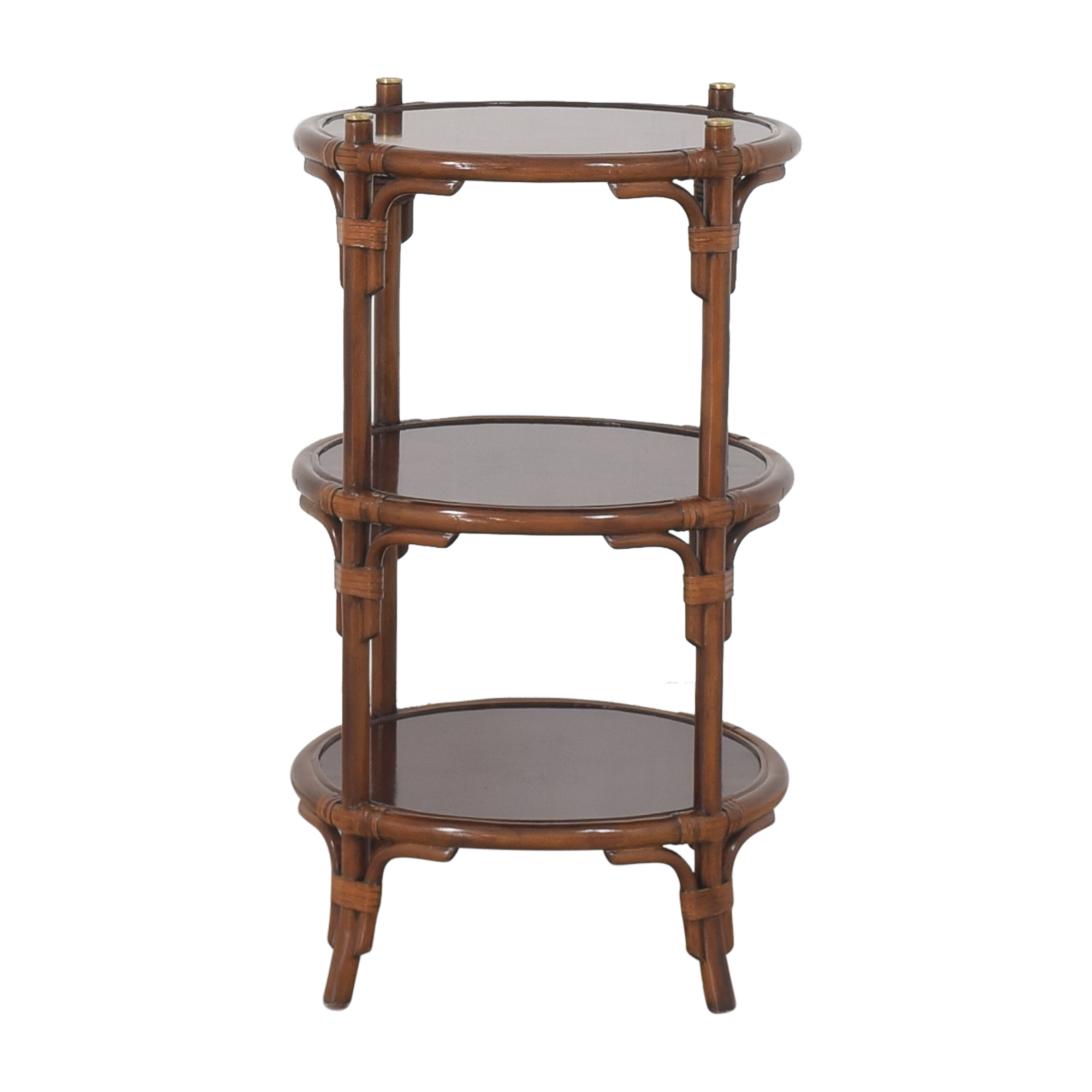 Maitland-Smith Maitland-Smith Three Tier Side Table for sale
