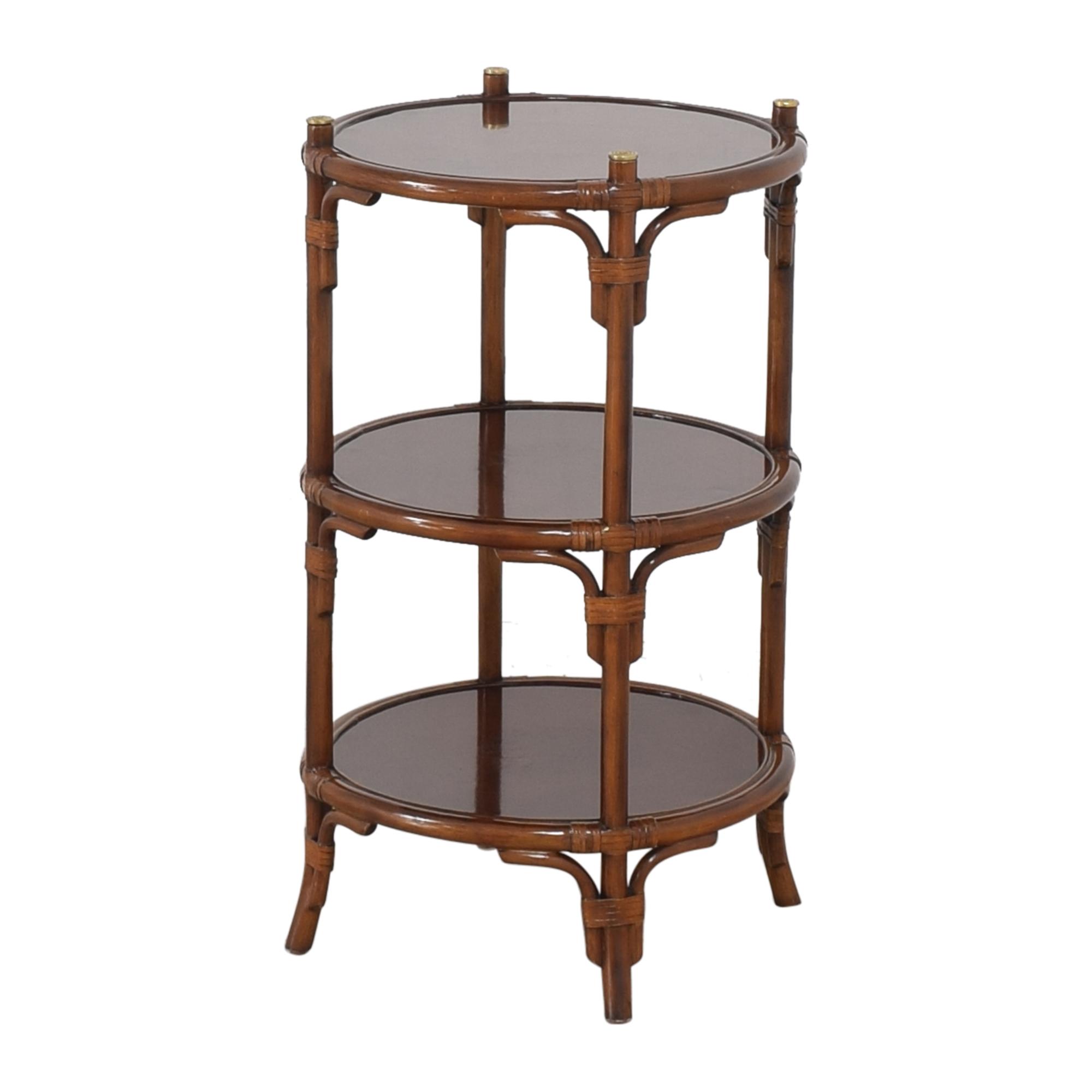 Maitland-Smith Maitland-Smith Three Tier Side Table nyc