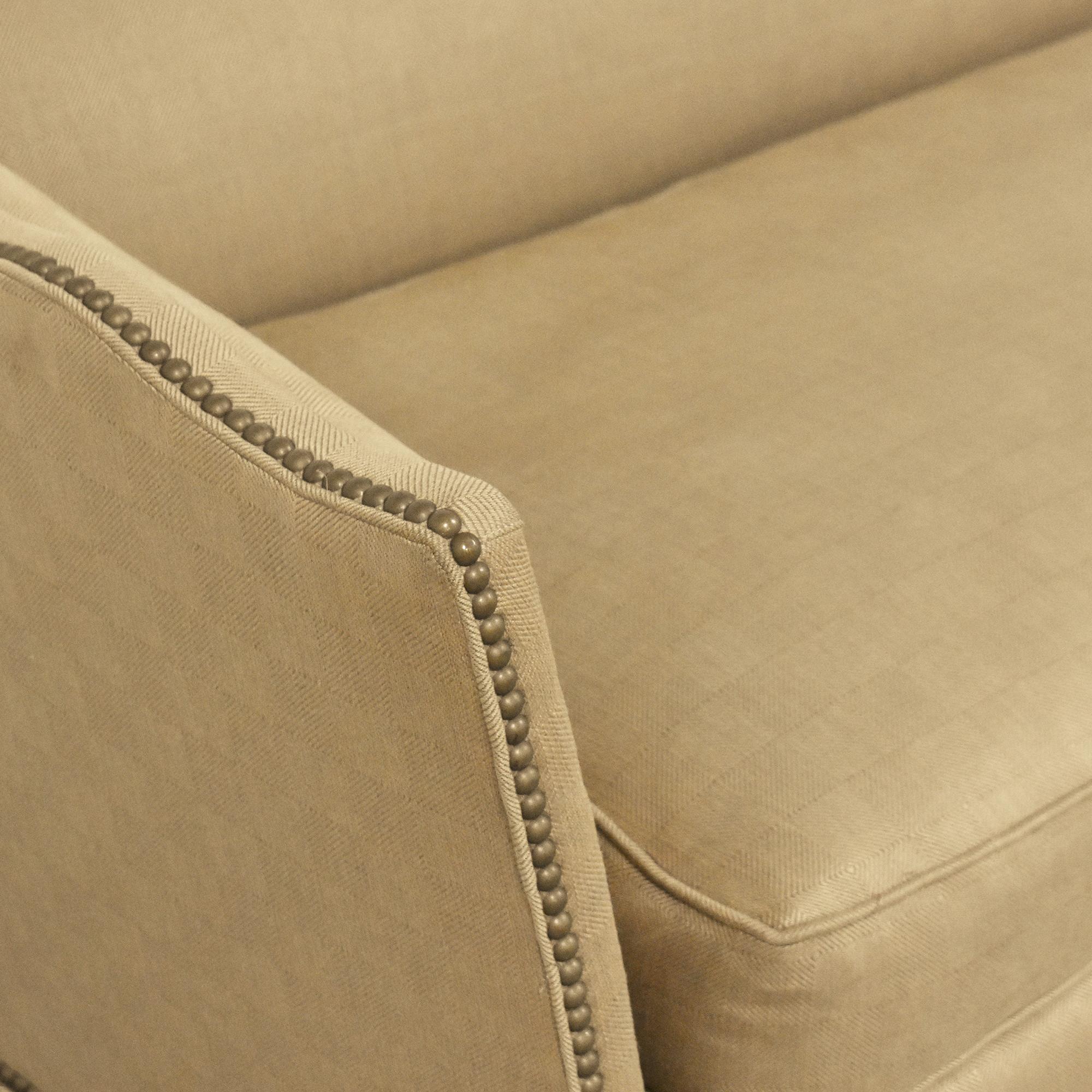 Beacon Hill Collection Nailhead Trim Sofa / Classic Sofas
