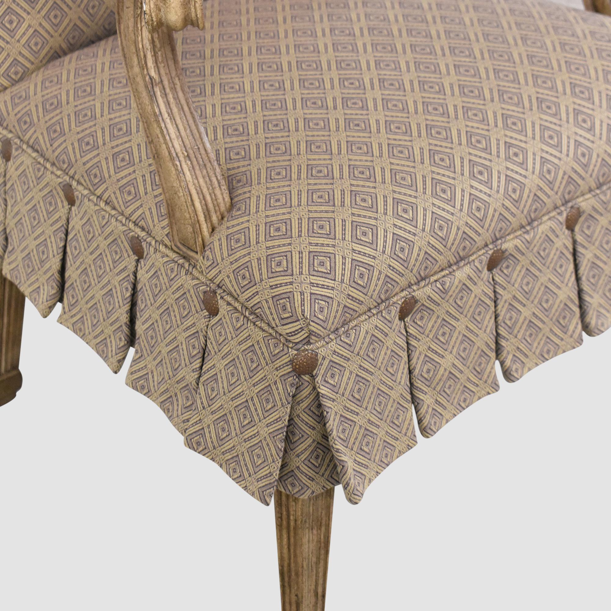 Kravet Kravet Pleated Accent Chair discount