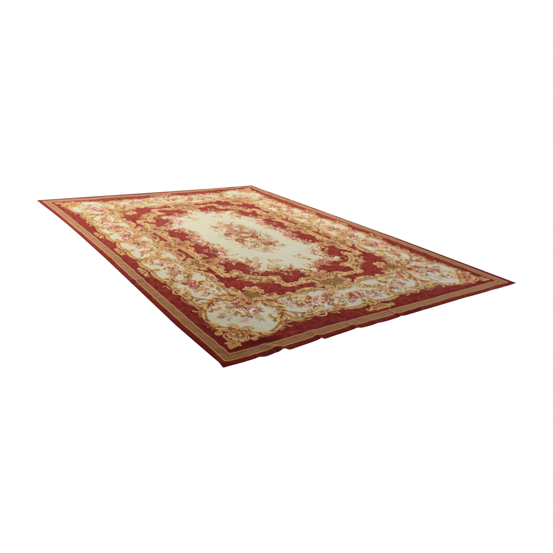 ABC Carpet & Home Aubusson-Style Area Rug / Decor