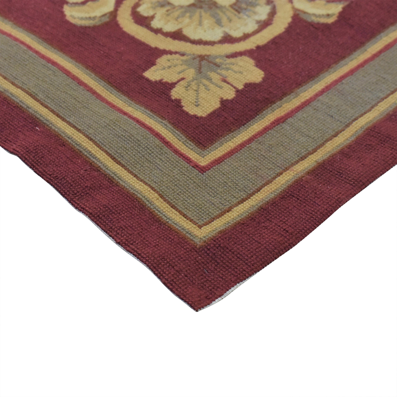 ABC Carpet & Home ABC Carpet & Home Aubusson-Style Area Rug ct