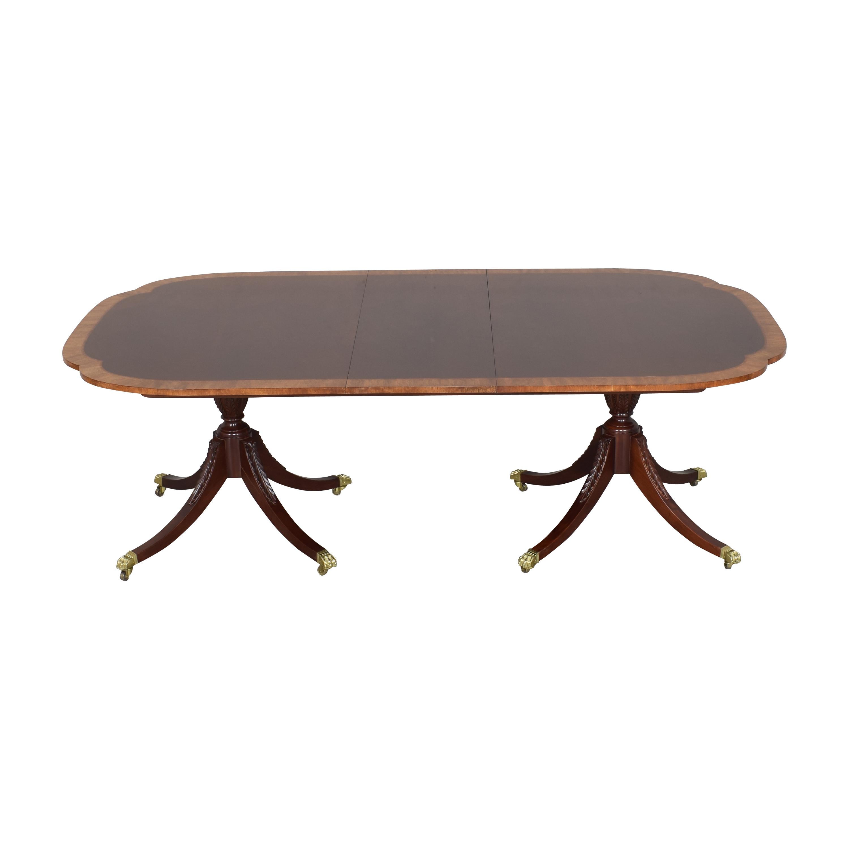 Baker Furniture Baker Furniture Historic Charleston Extendable Dining Table on sale