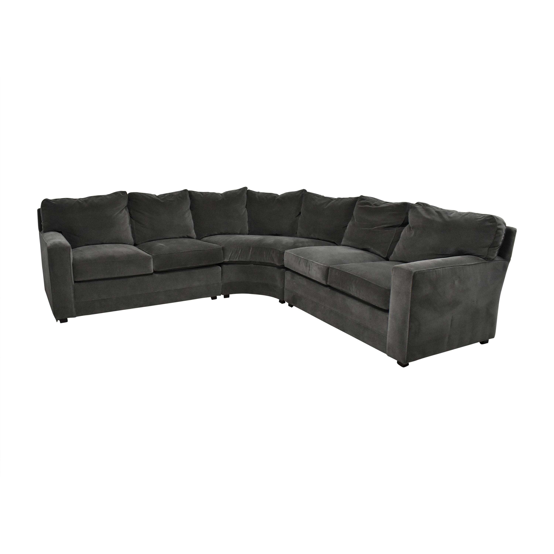 Henredon Furniture Henredon Furniture Corner Sectional Sofa pa