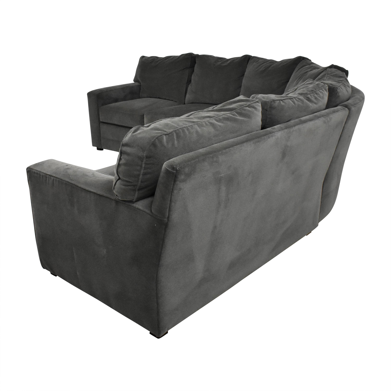 Henredon Furniture Henredon Furniture Corner Sectional Sofa ct