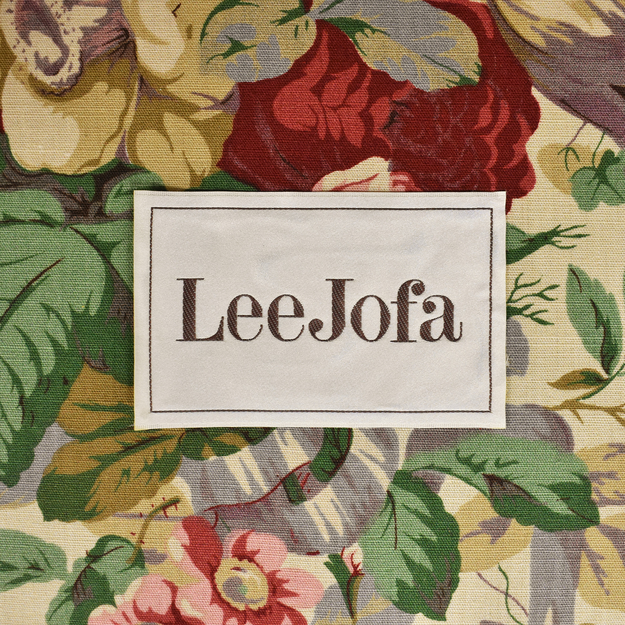 Lee Jofa Lee Jofa Floral Club Chair pa