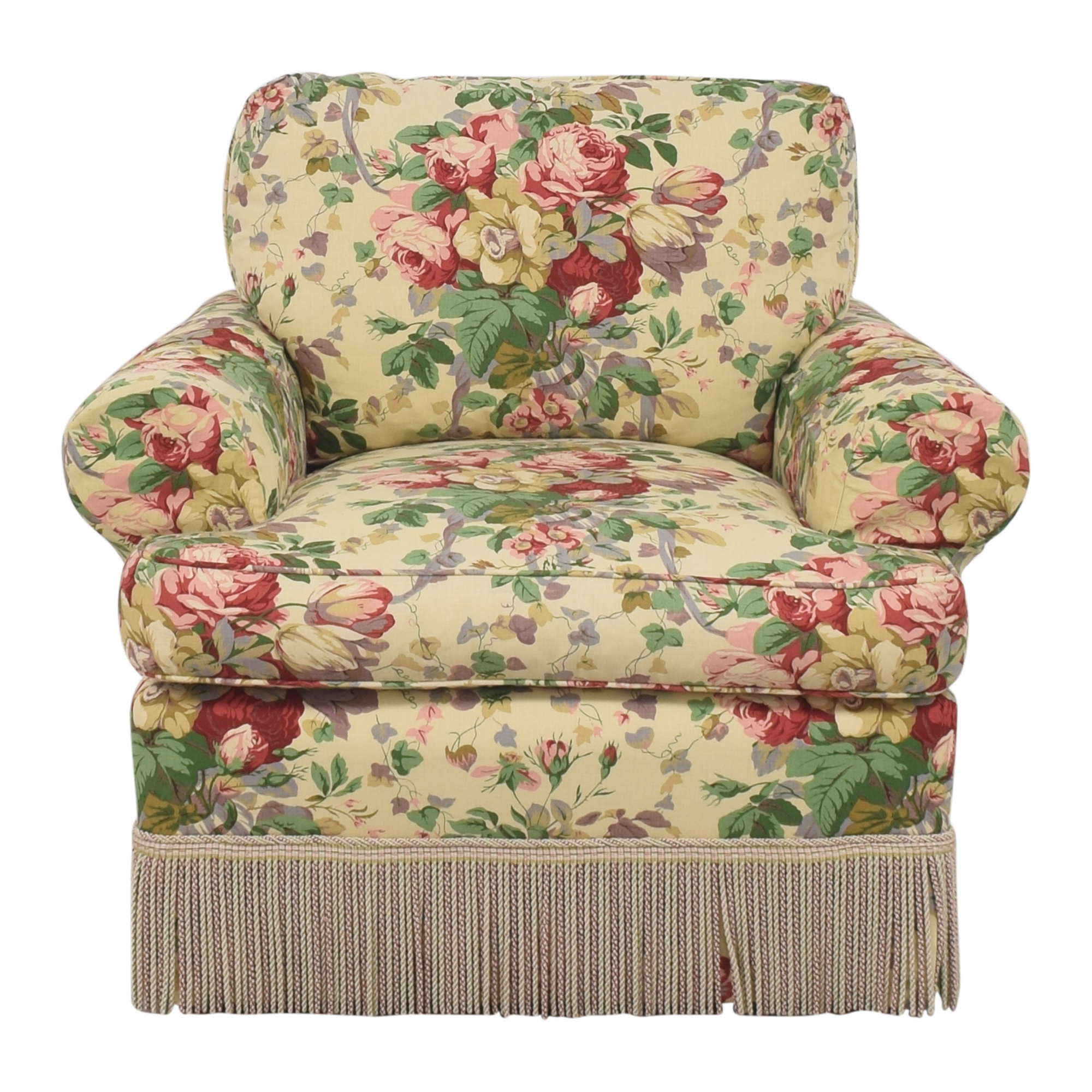 buy Lee Jofa Floral Club Chair Lee Jofa Accent Chairs