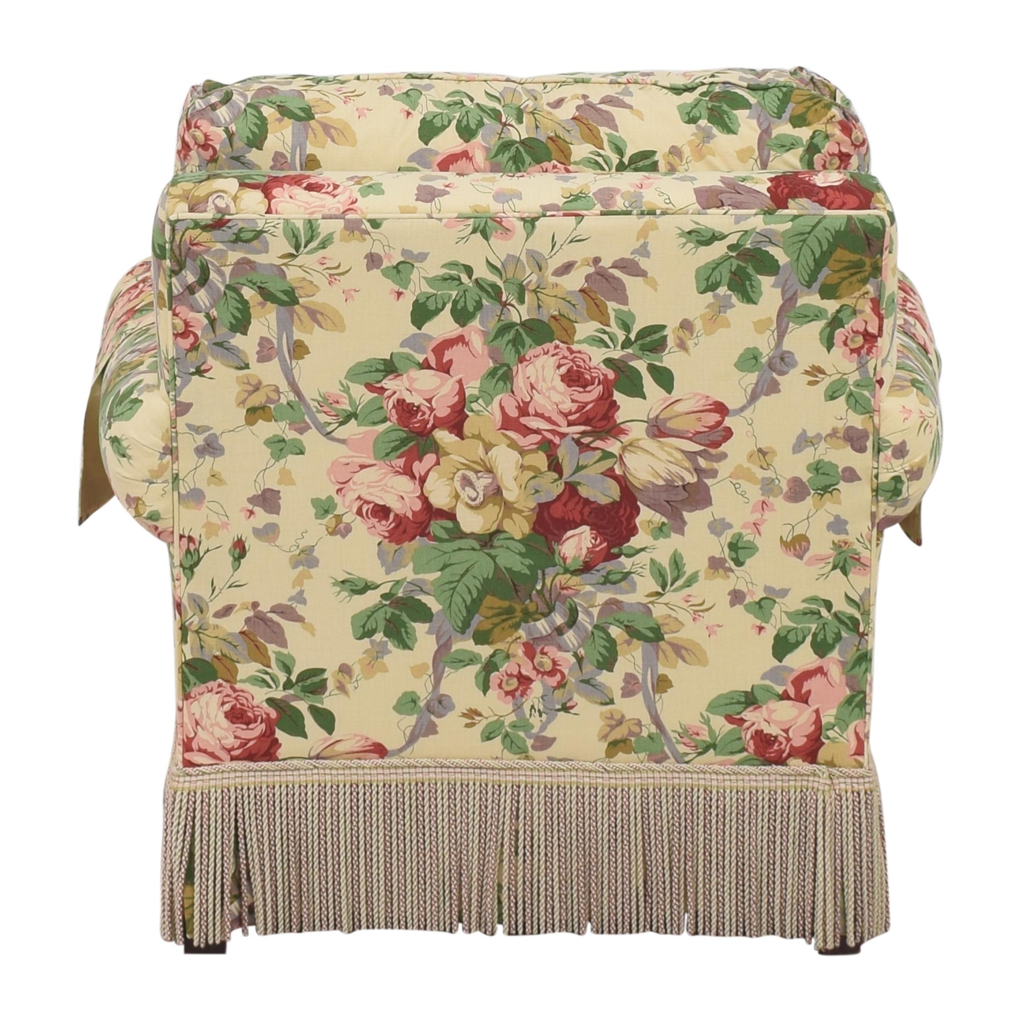 Lee Jofa Lee Jofa Floral Club Chair Accent Chairs