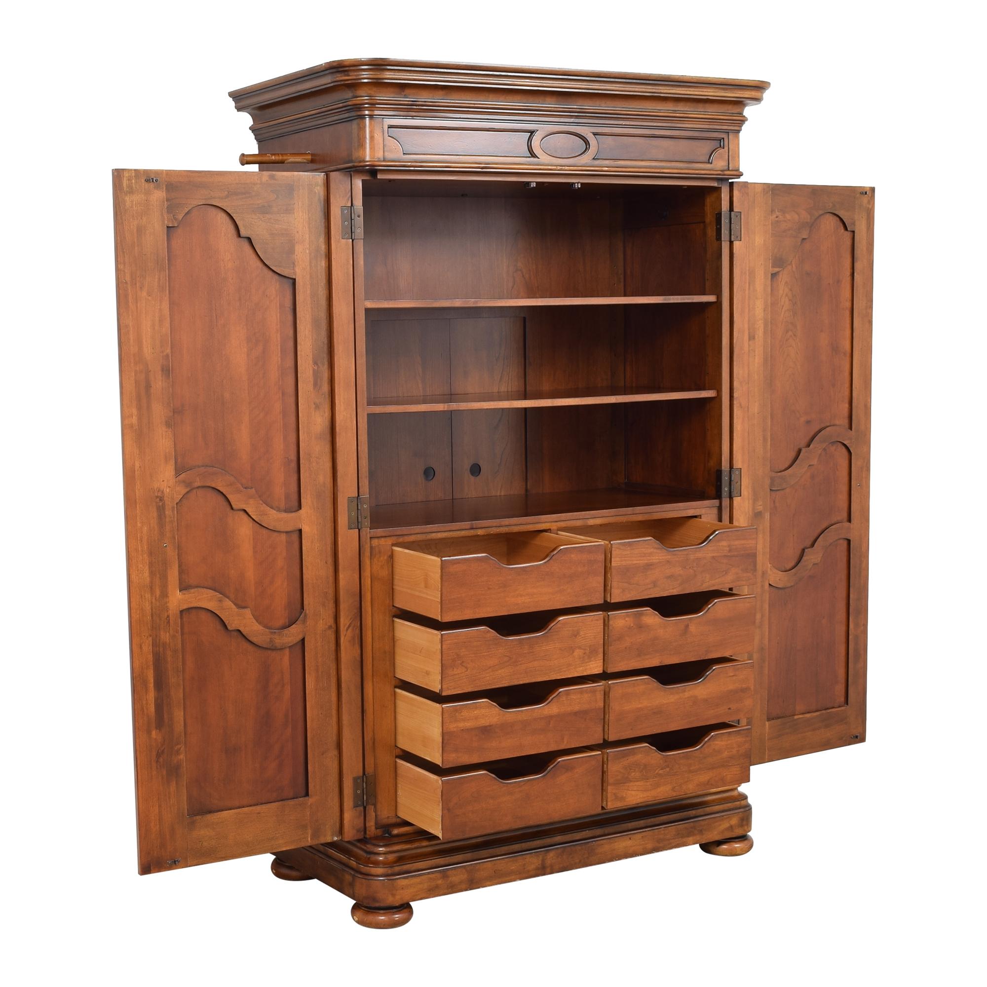 Ethan Allen Ethan Allen Tuscany Armoire Storage