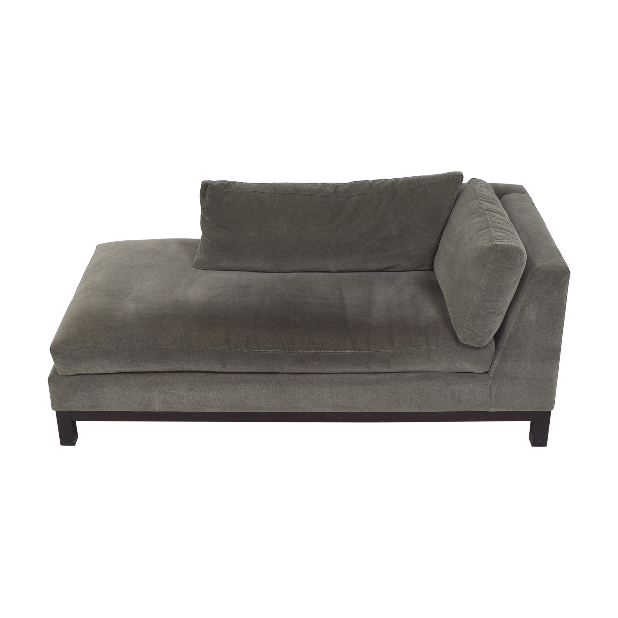 Crate & Barrel Crate & Barrel Chaise Lounge grey