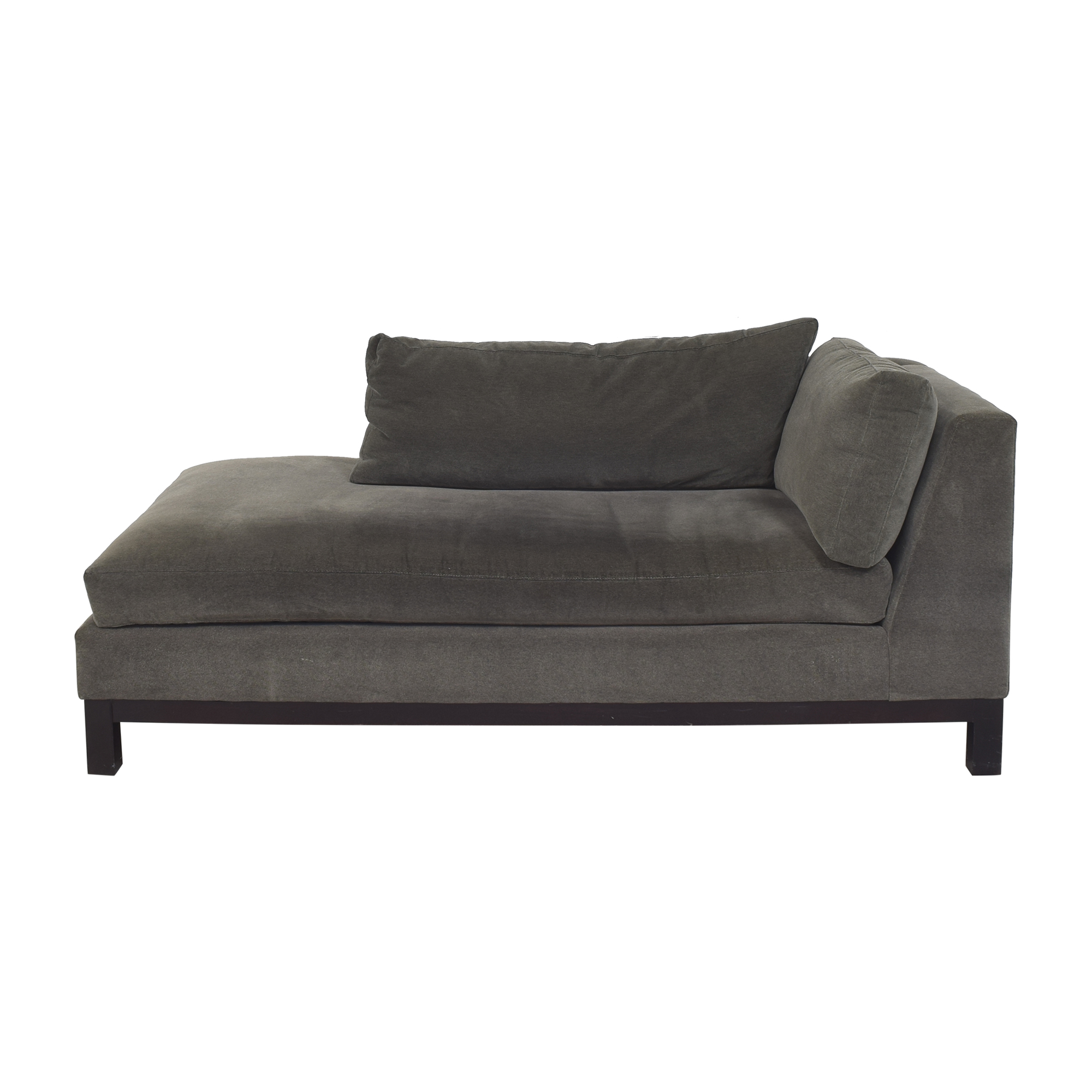 shop Crate & Barrel Chaise Lounge Crate & Barrel Chaises