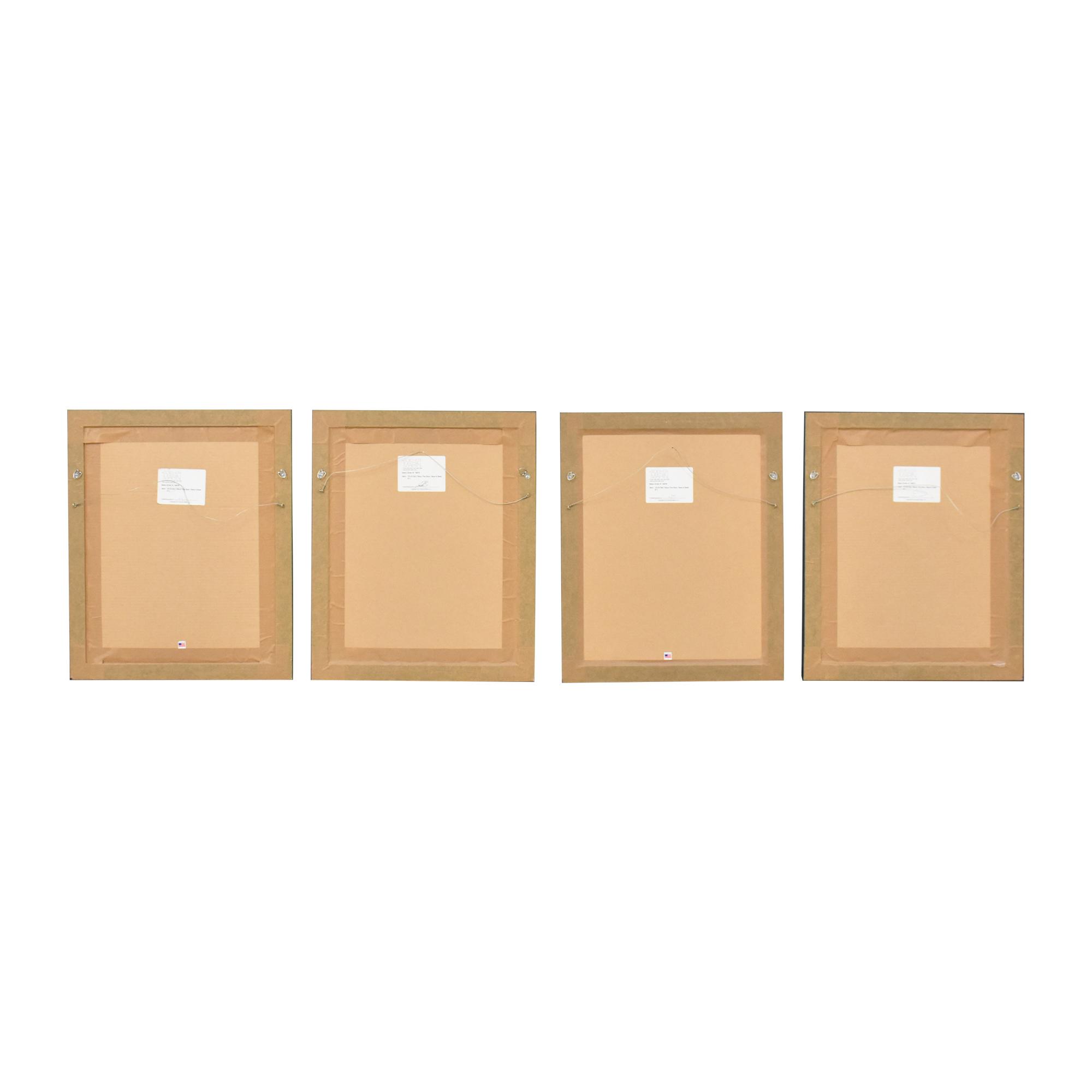 buy Soicher Marin Soicher Marin Shut the Door, Have a Seat Wall Art Series online