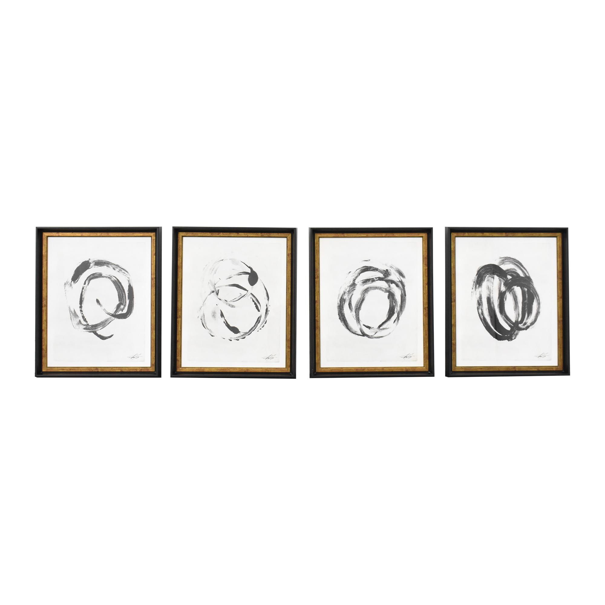 buy Soicher Marin Shut the Door, Have a Seat Wall Art Series Soicher Marin Decor
