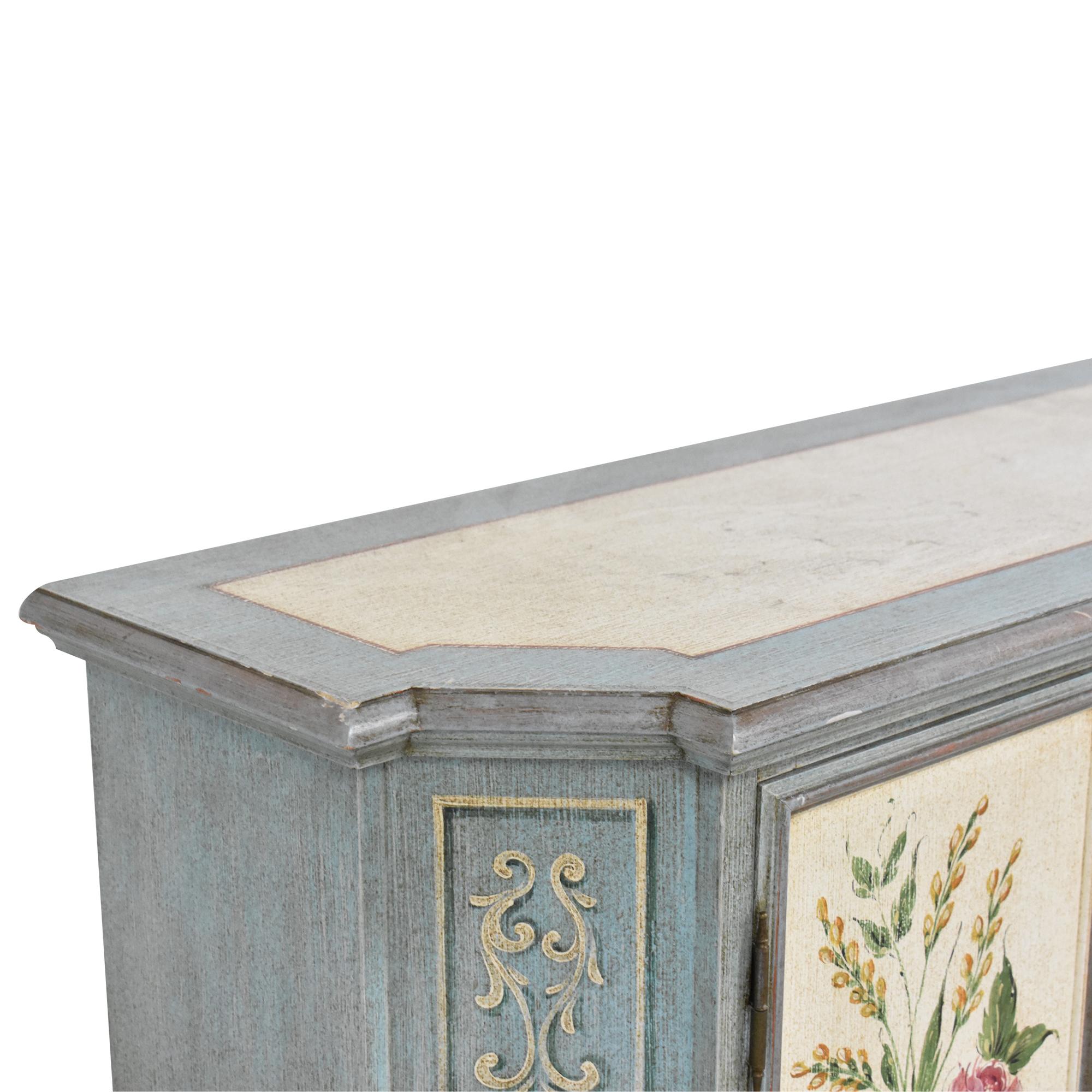 Vintage Painted Cabinet dimensions