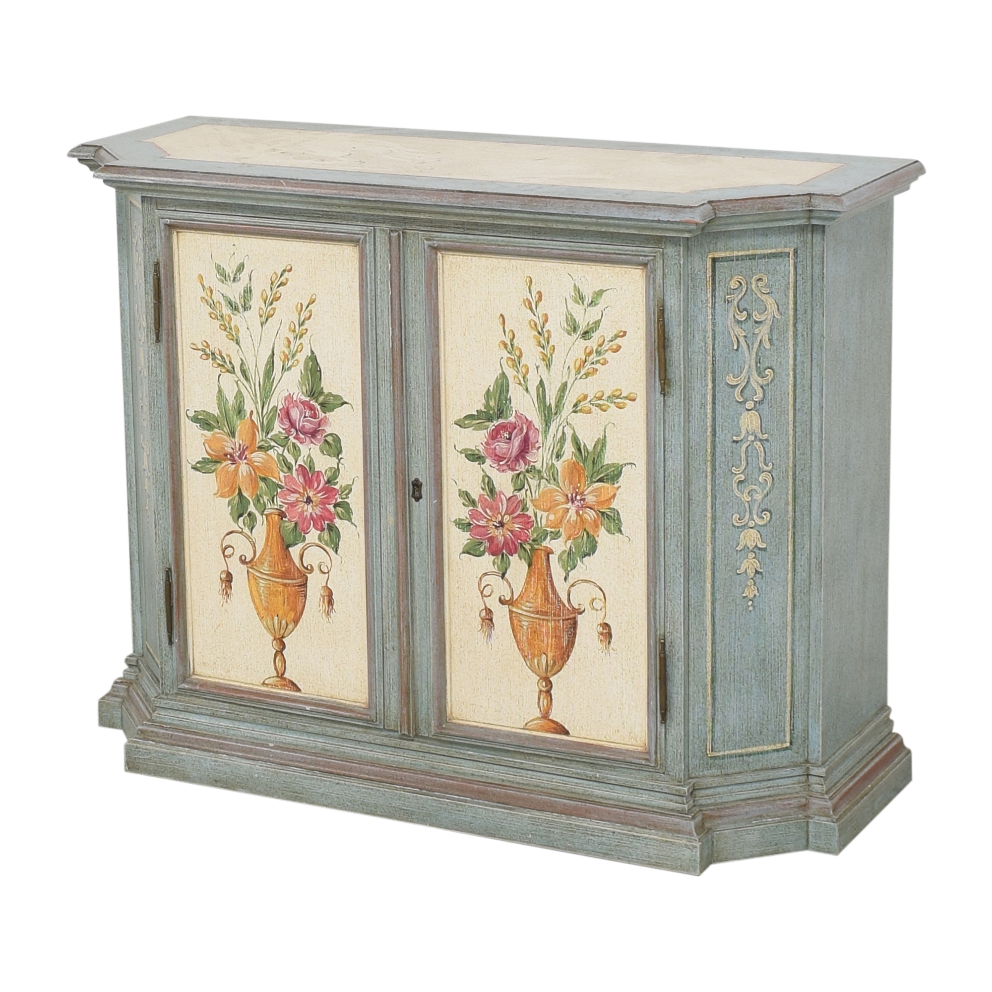 Vintage Painted Cabinet Cabinets & Sideboards