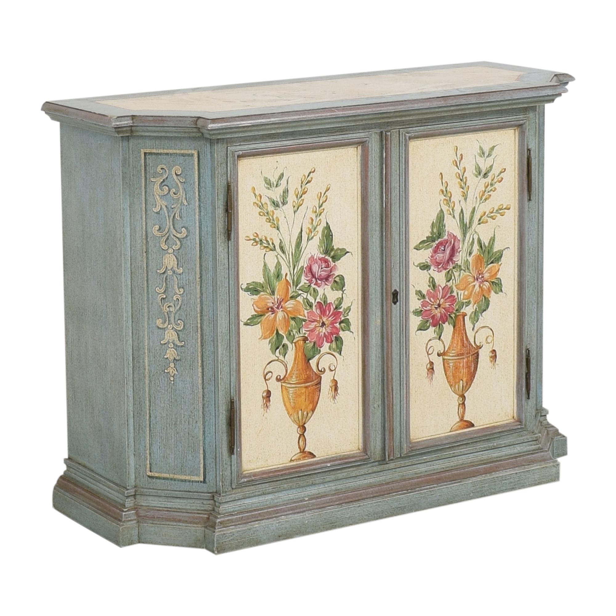 shop Vintage Painted Cabinet  Storage