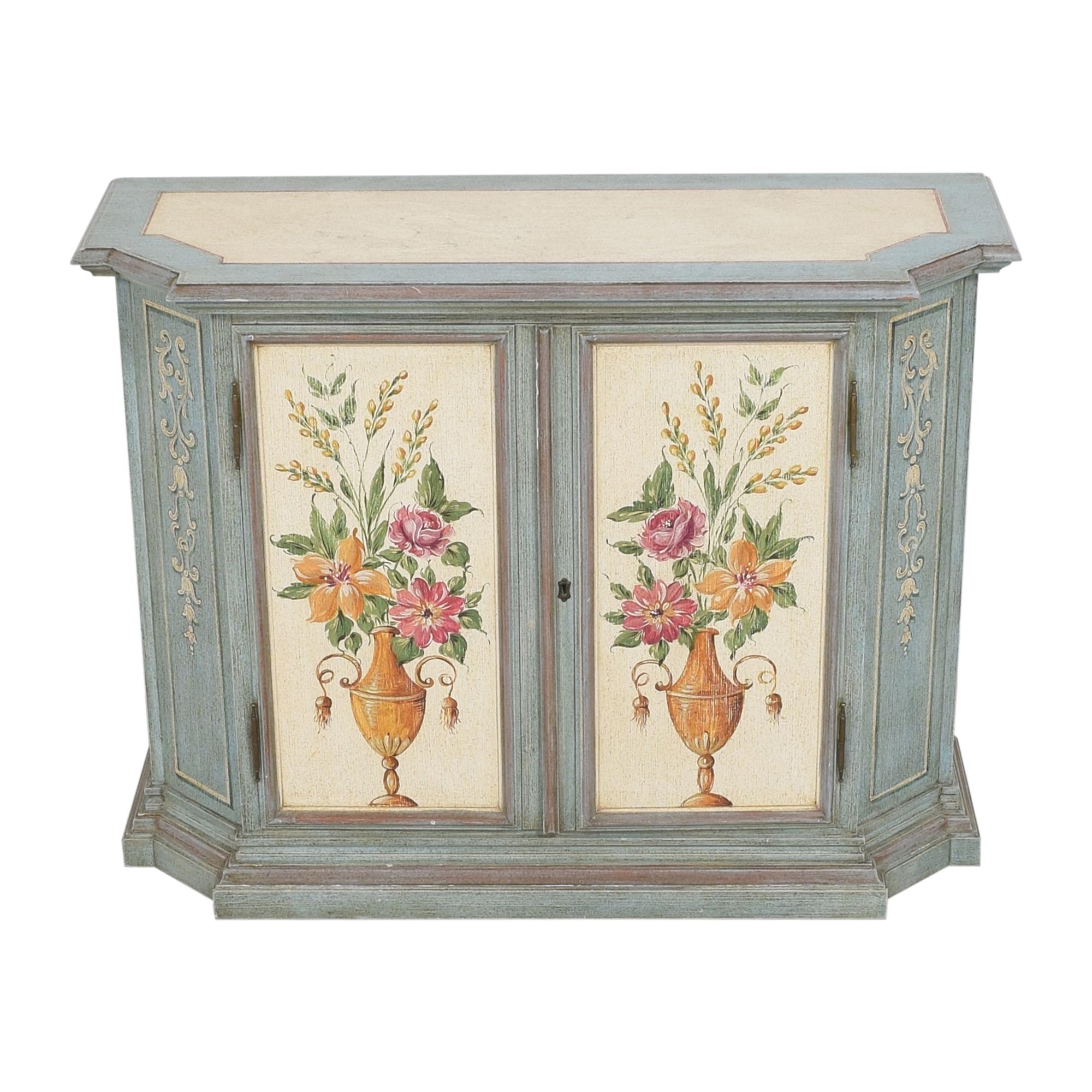 buy Vintage Painted Cabinet  Storage