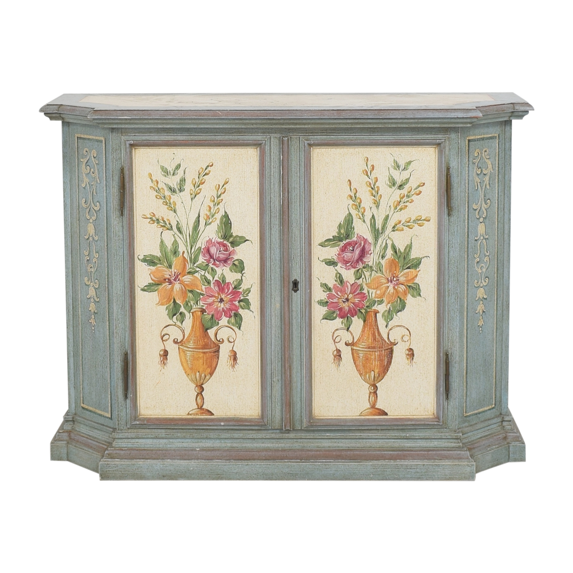 buy Vintage Painted Cabinet  Cabinets & Sideboards