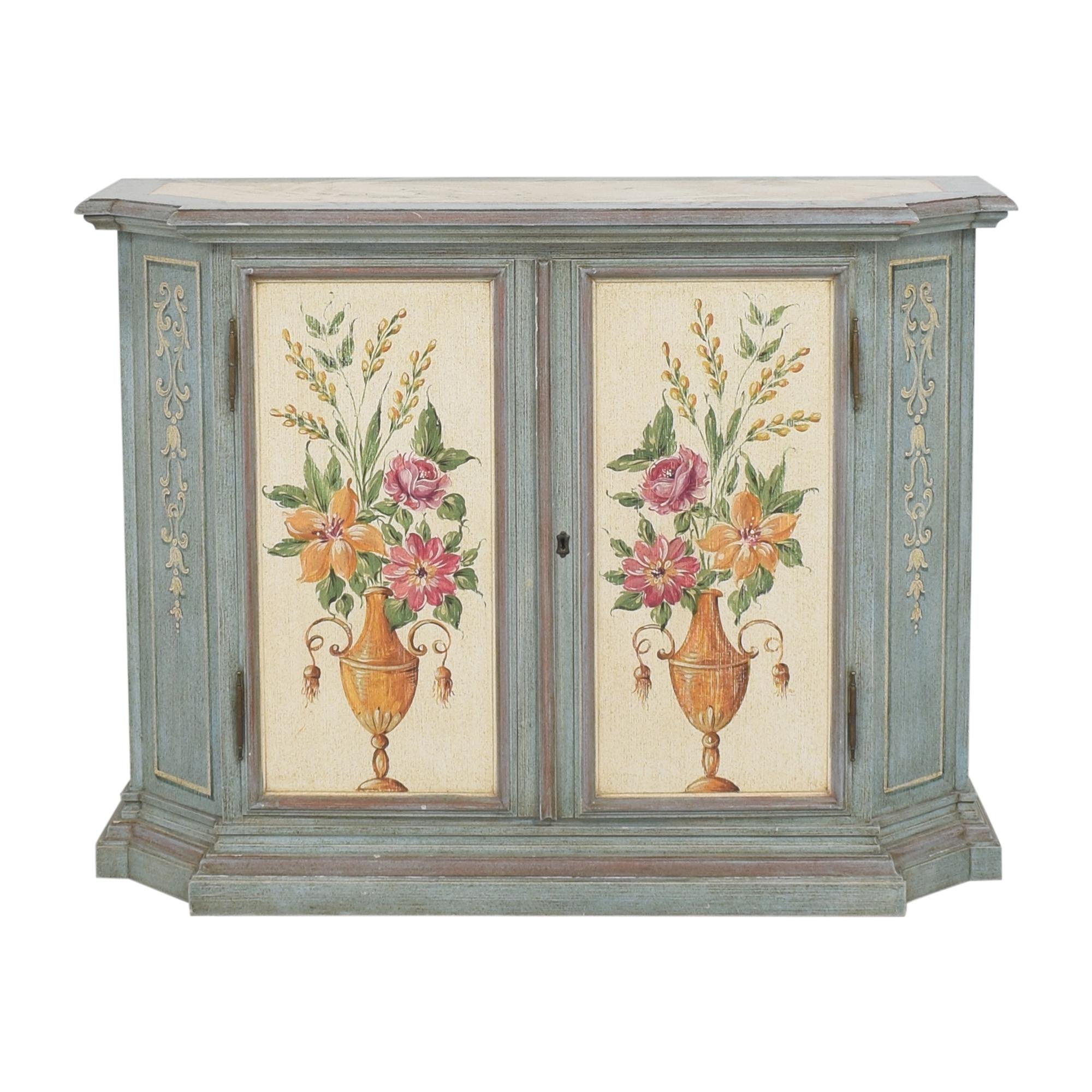 shop Vintage Painted Cabinet
