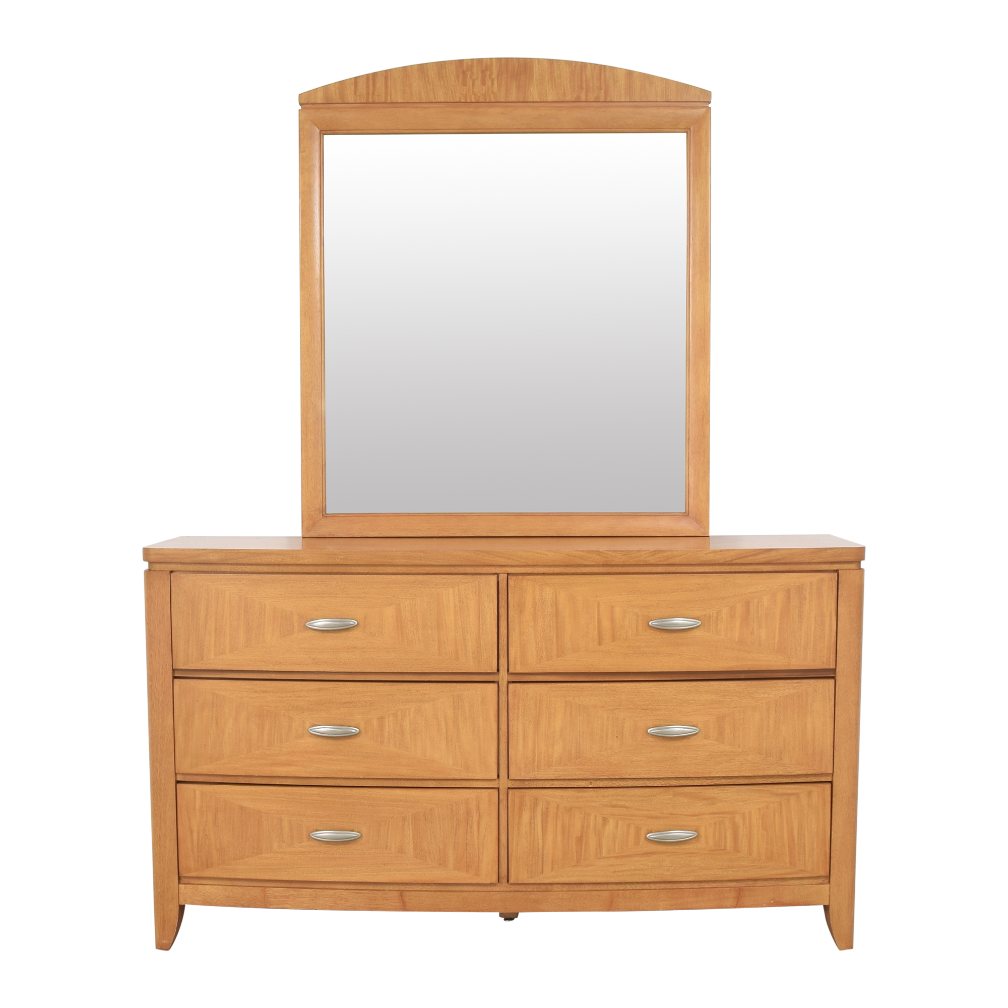 Universal Furniture Universal Furniture Double Dresser with Mirror on sale