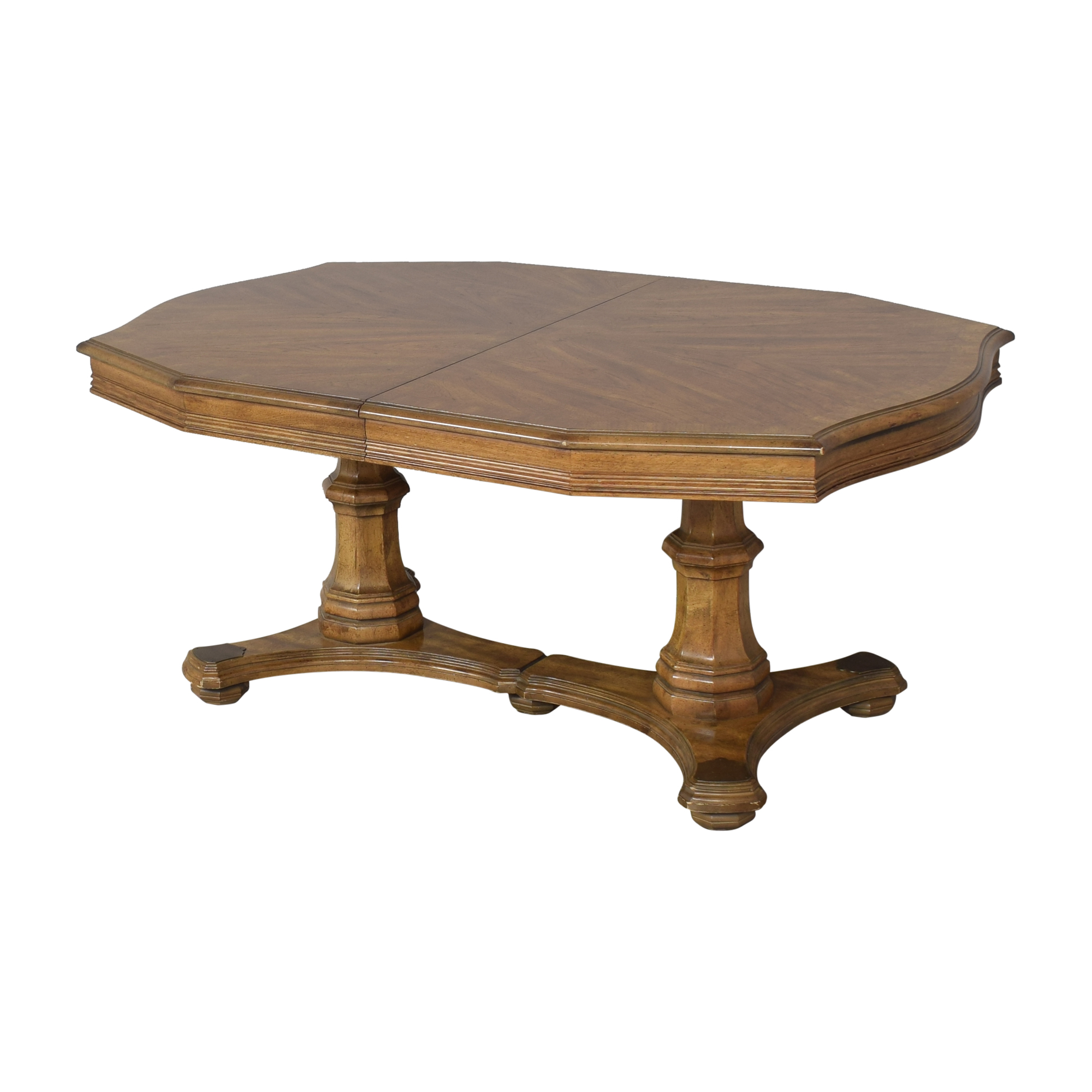 Trestle Pedestal Extendable Dining Table price