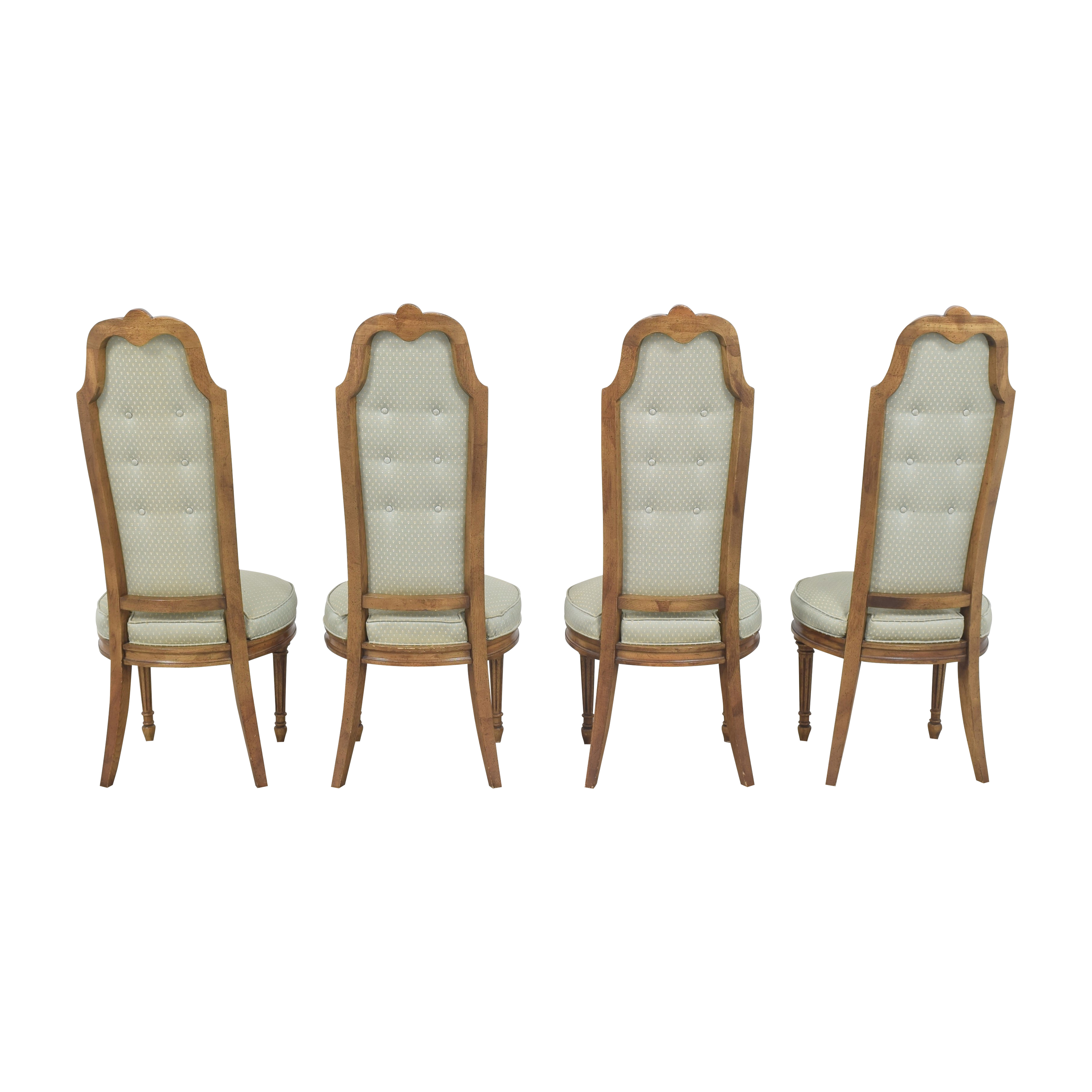 buy High Back Tufted Dining Chairs