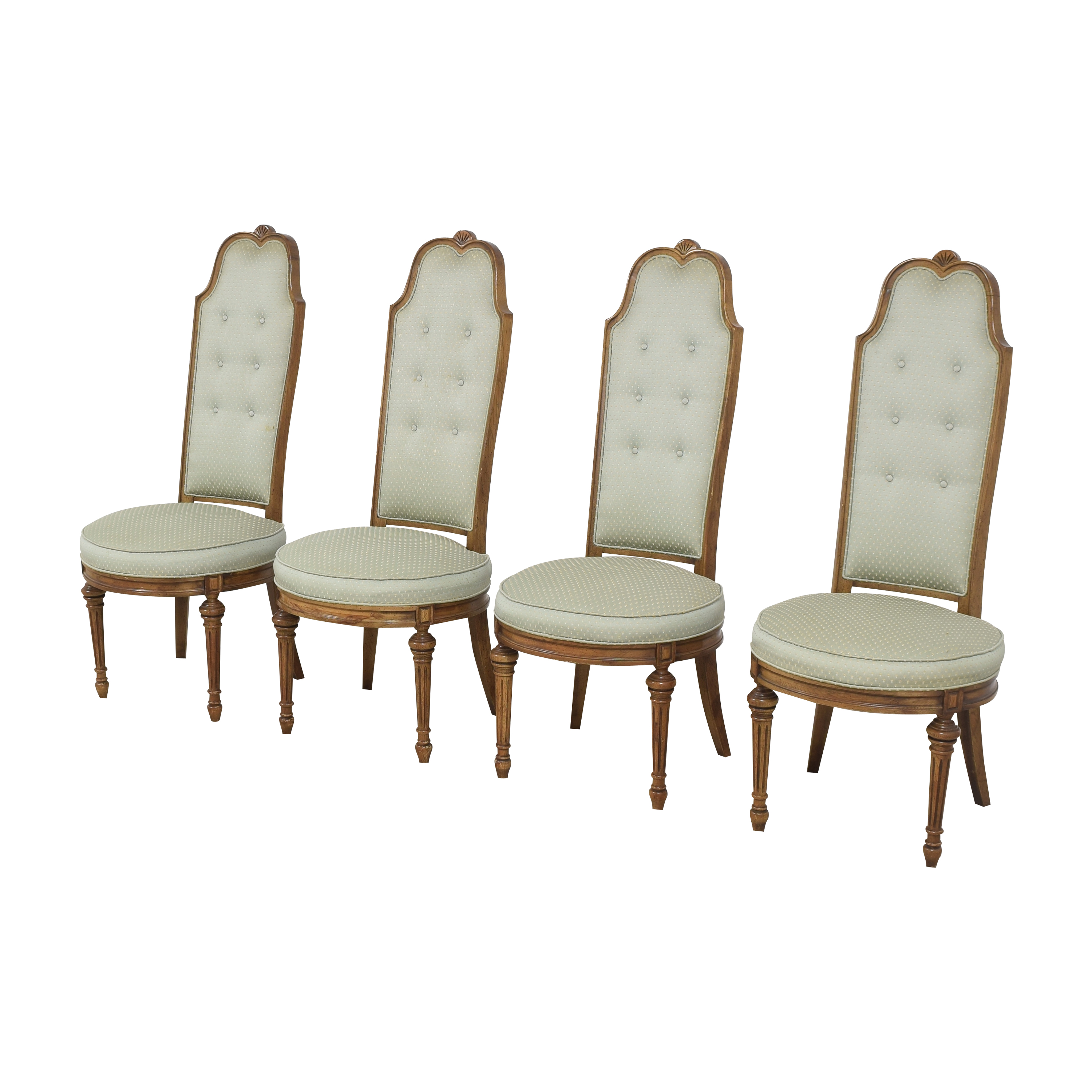 High Back Tufted Dining Chairs  coupon
