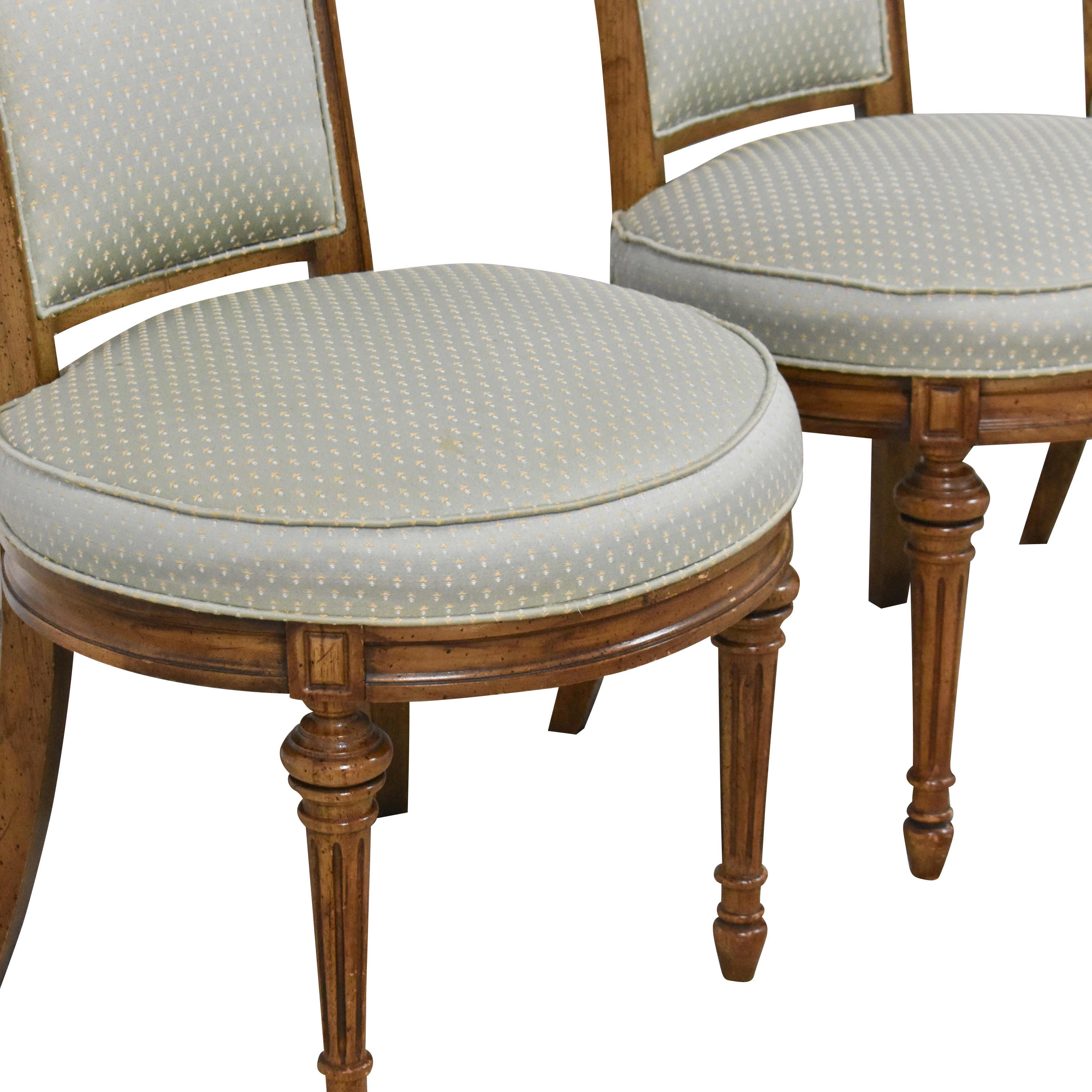 High Back Tufted Dining Chairs