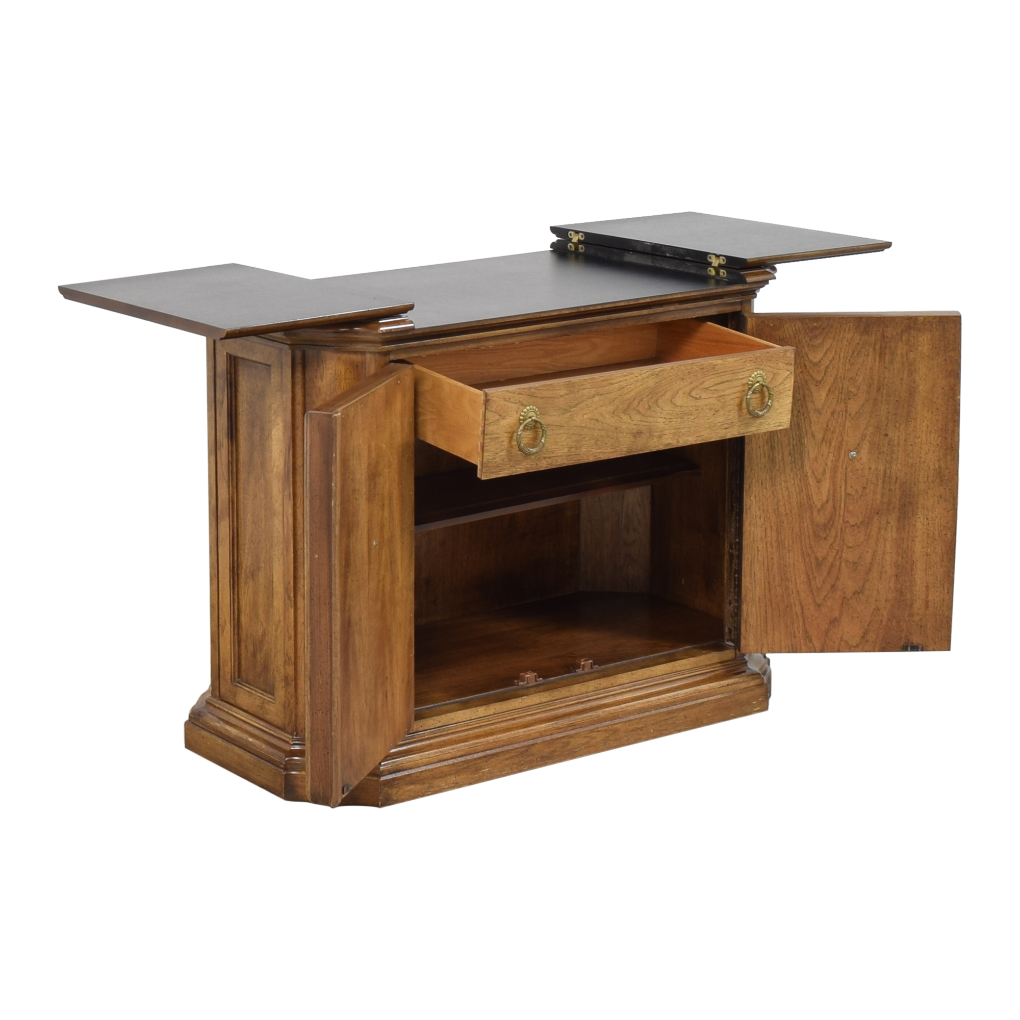 Bernhardt Hibriten Flip Top Server Buffet / Storage