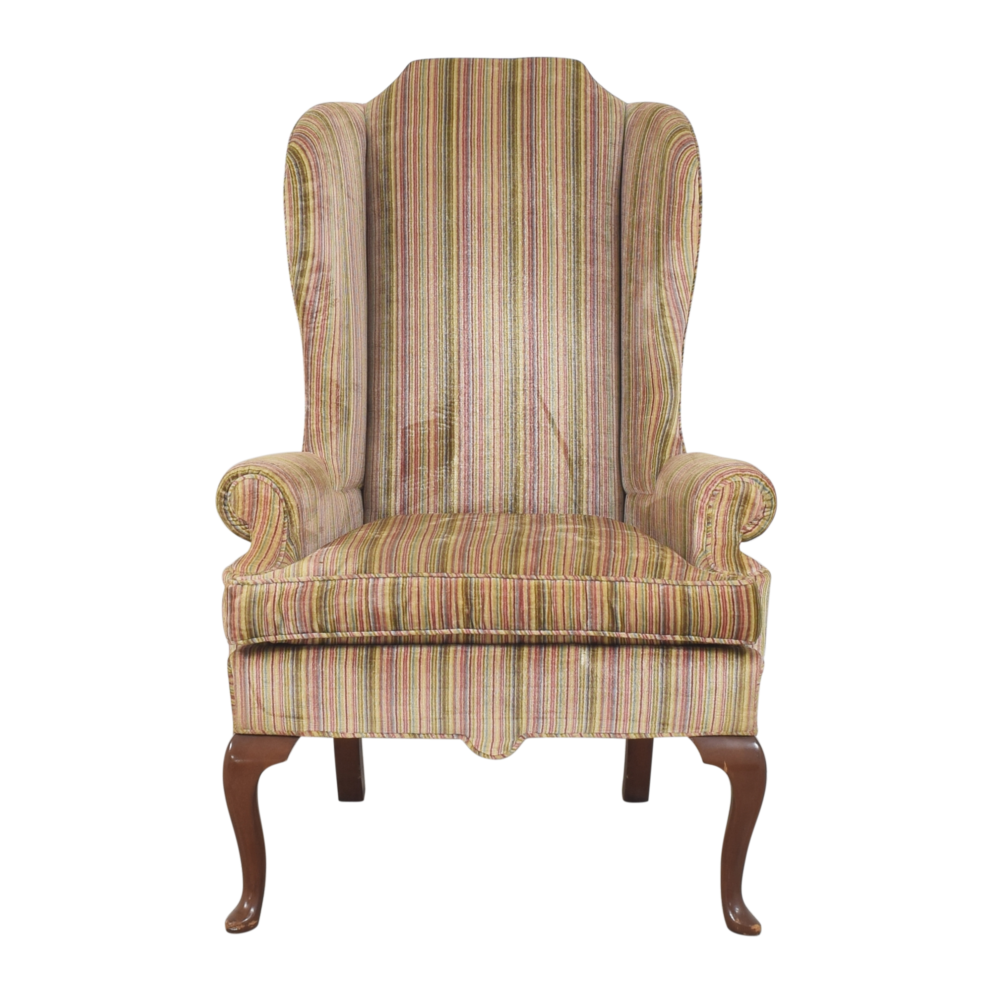 D. Becker & Sons D. Becker & Sons Striped Wing Accent Chair price