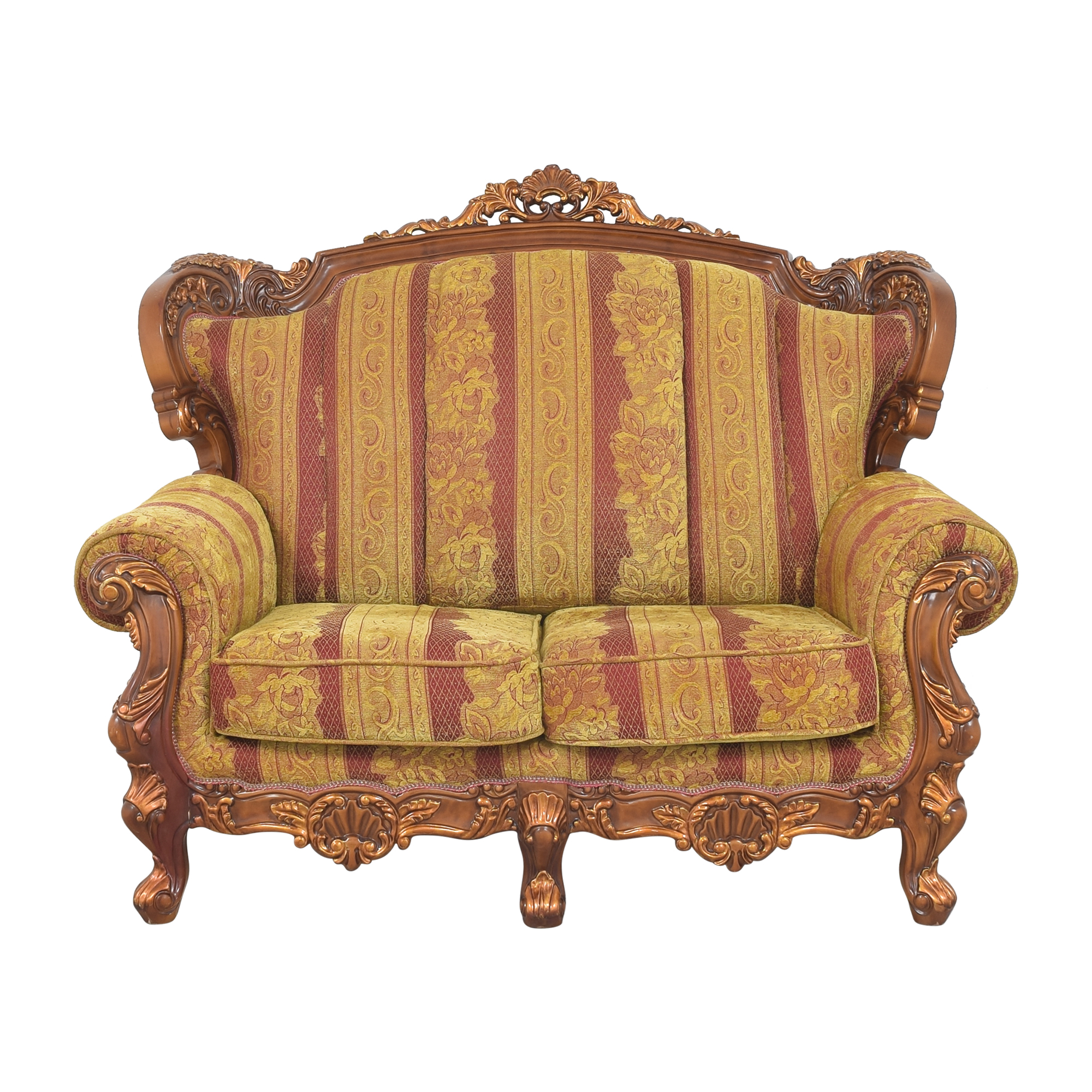 Ornate French-Style Loveseat on sale