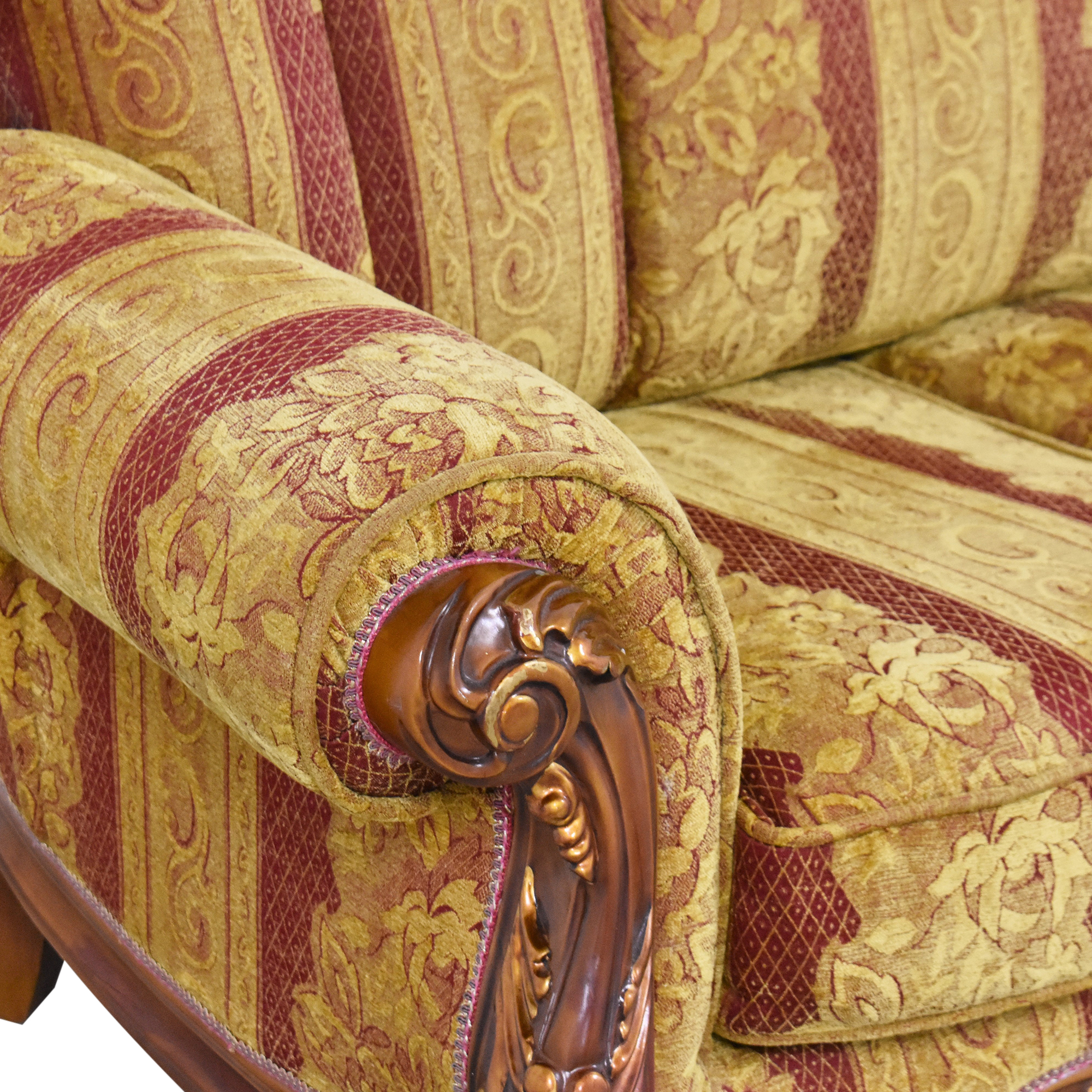 Ornate French-Style Loveseat coupon