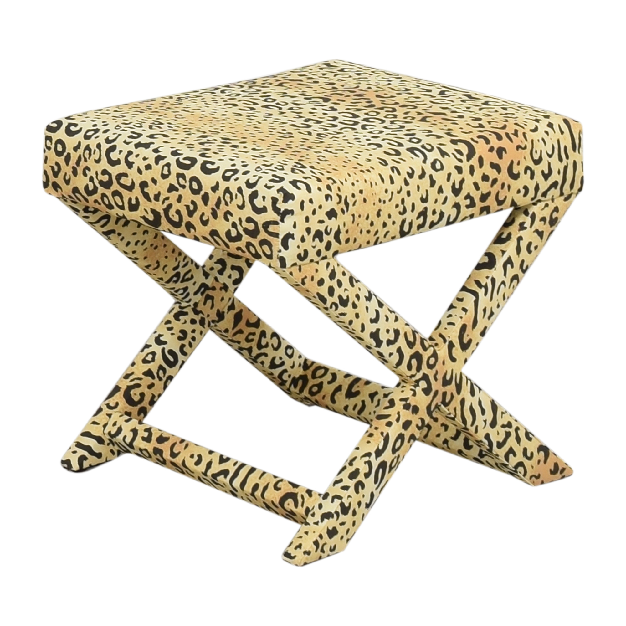 The Inside The Inside Leopard X Bench Stools